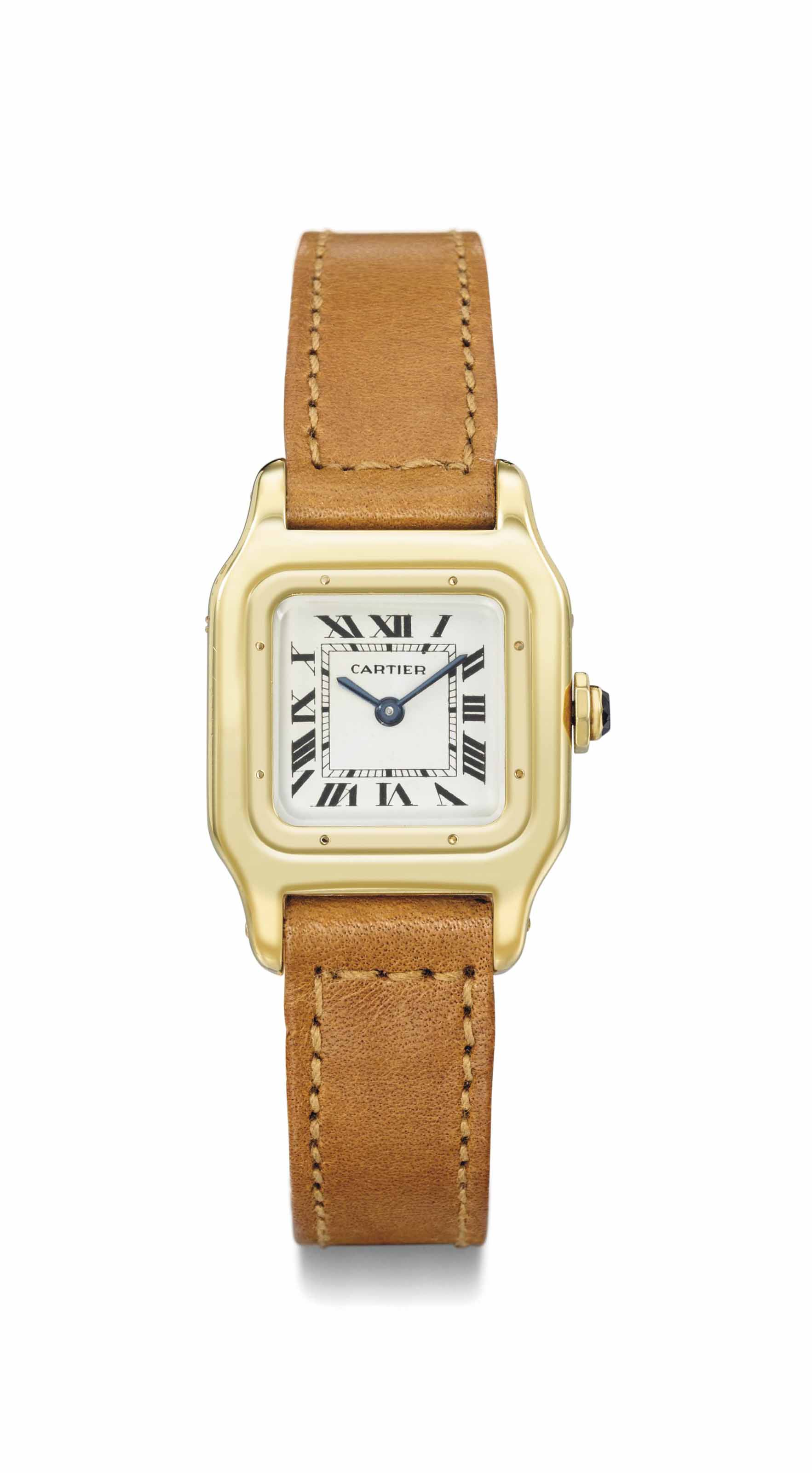 Cartier. A lady's attractive 1