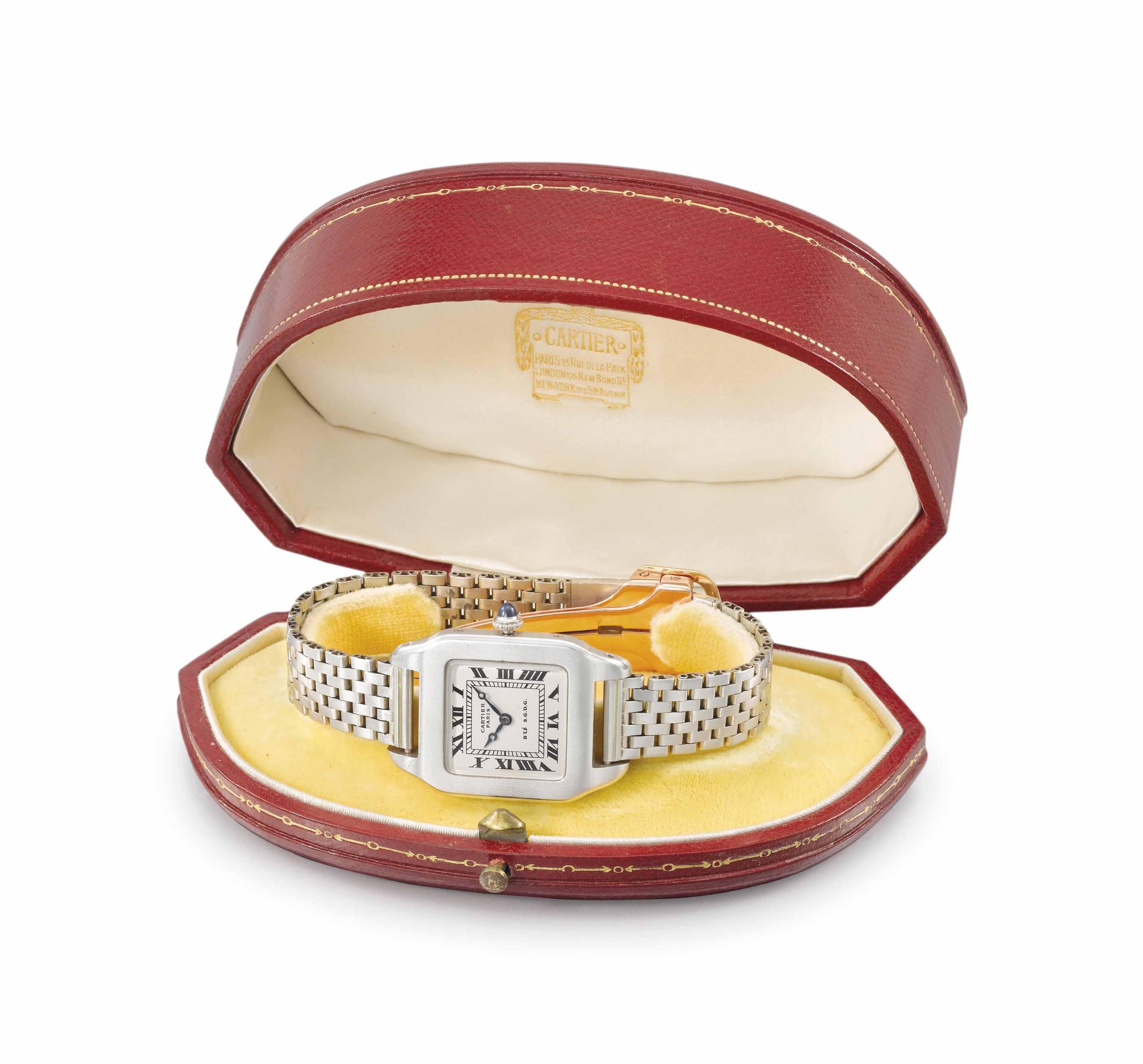 Cartier. A fine platinum and 1