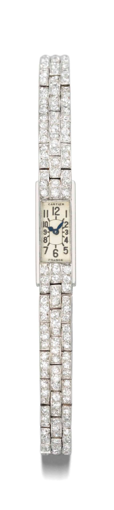 Cartier. A lady's very fine, r