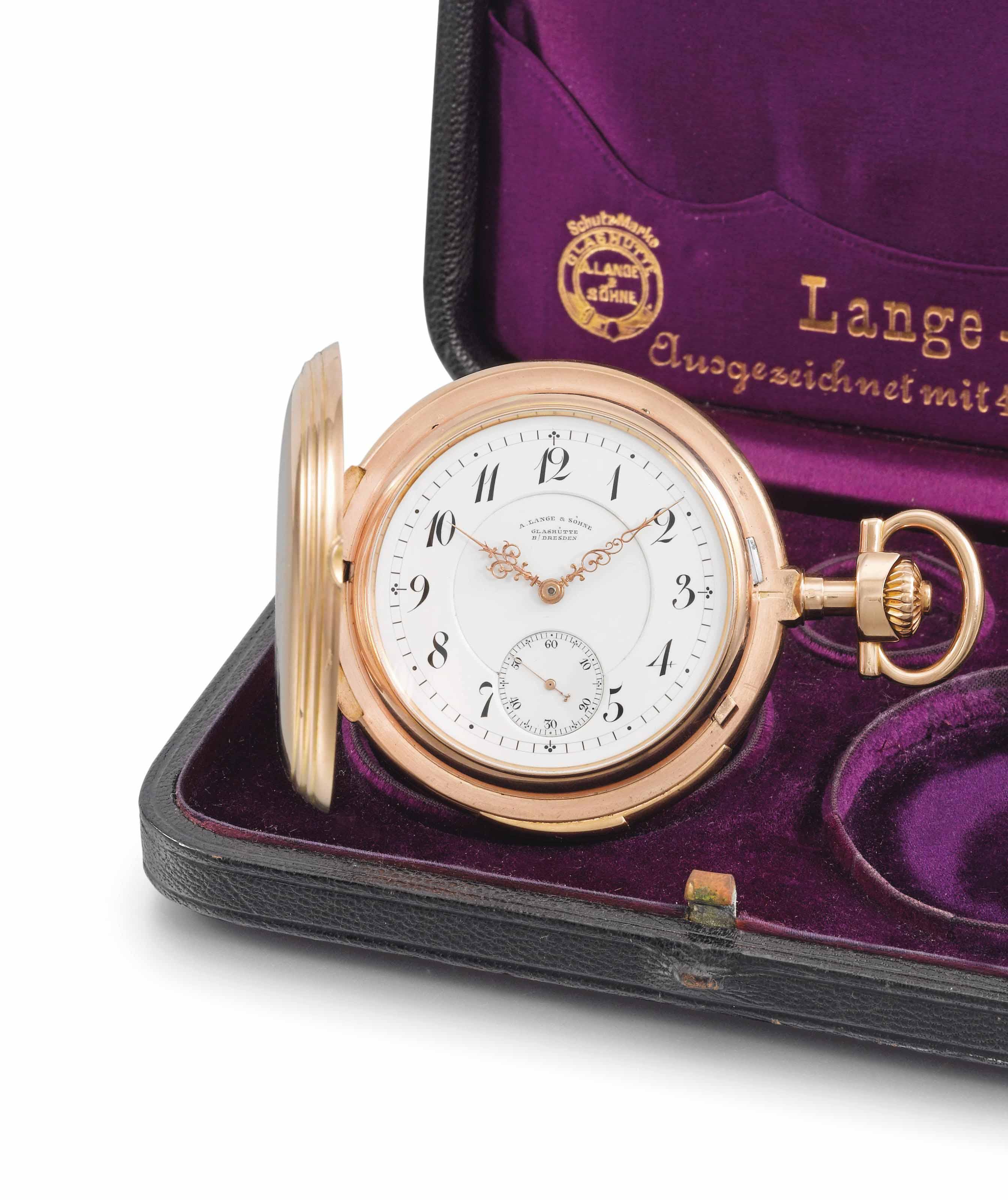 A. Lange & Söhne. A very fine