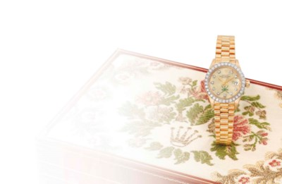 Rolex. A very fine, rare and e