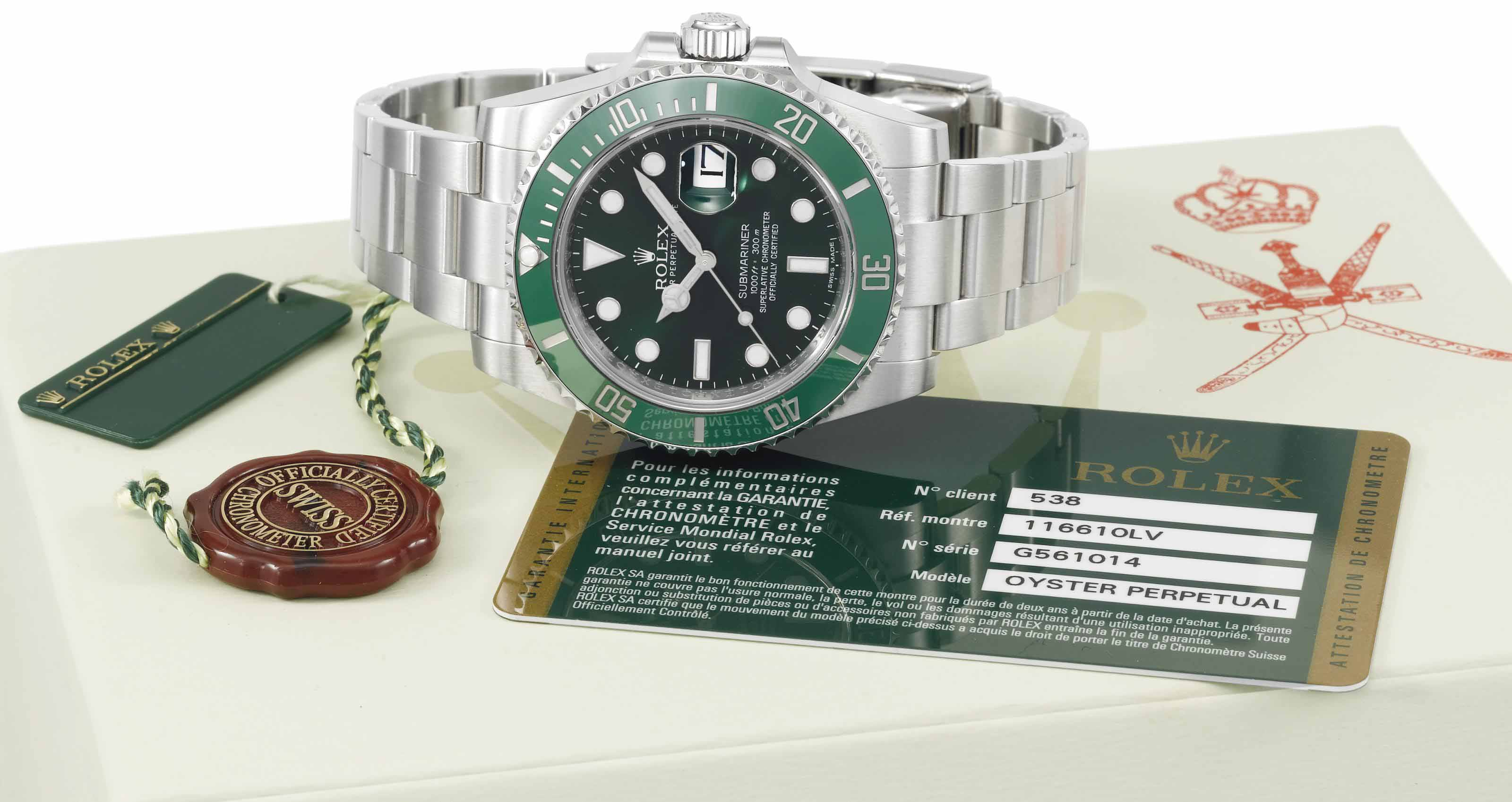Rolex. A highly attractive, fi