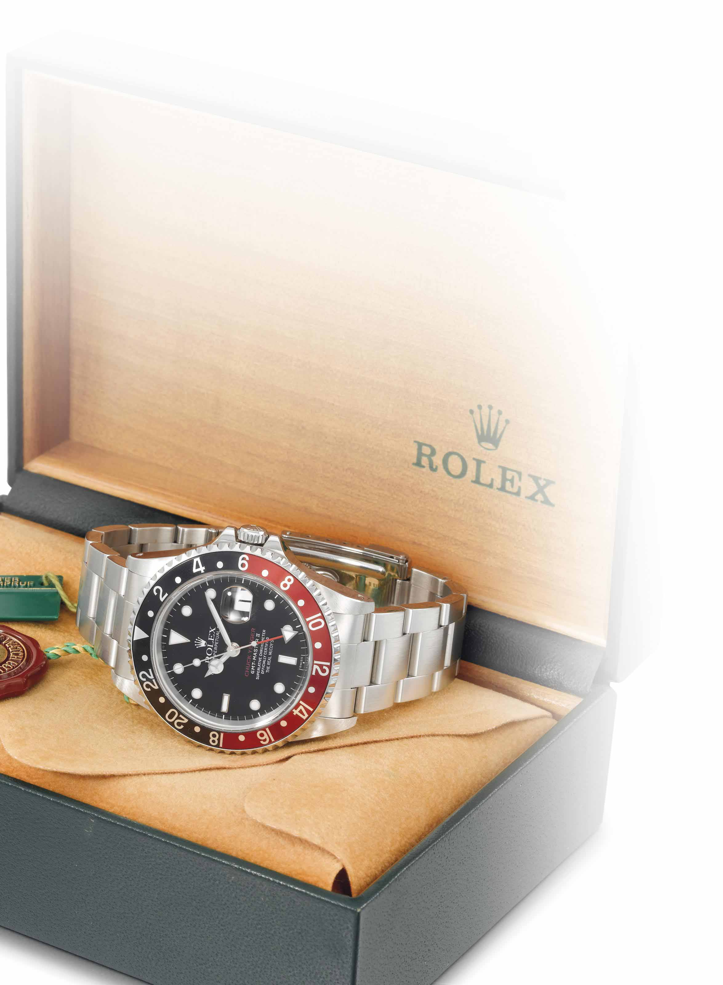 Rolex and The Real McCoy's. A