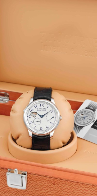 F.P. Journe. A very fine, ultr