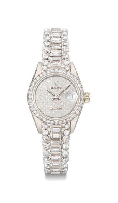 Rolex. A fine and rare lady's