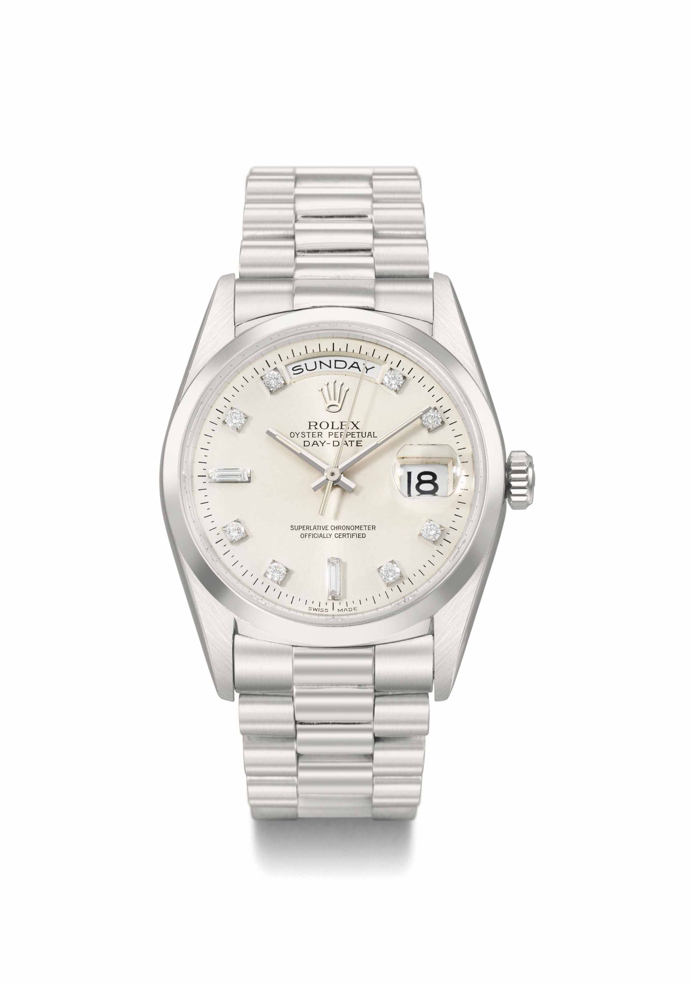 Rolex. A heavy and very fine p