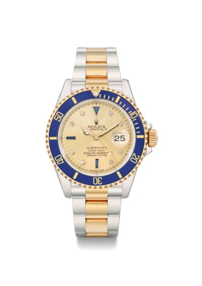 Rolex. A fine and attractive d