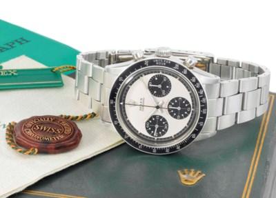 Rolex. A highly rare and attra