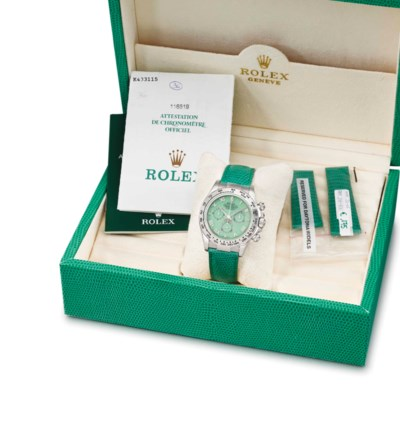 Rolex. A very rare and attract