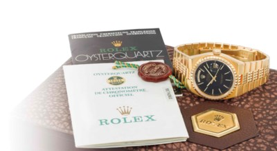 Rolex. A rare, heavy and impre