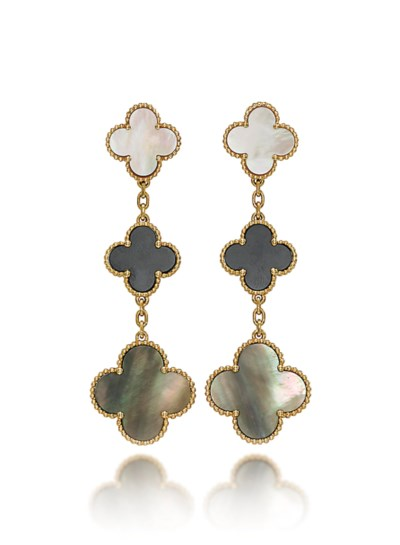 A PAIR OF MOTHER-OF-PEARL AND