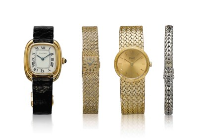A GROUP OF FOUR WRISTWATCHES