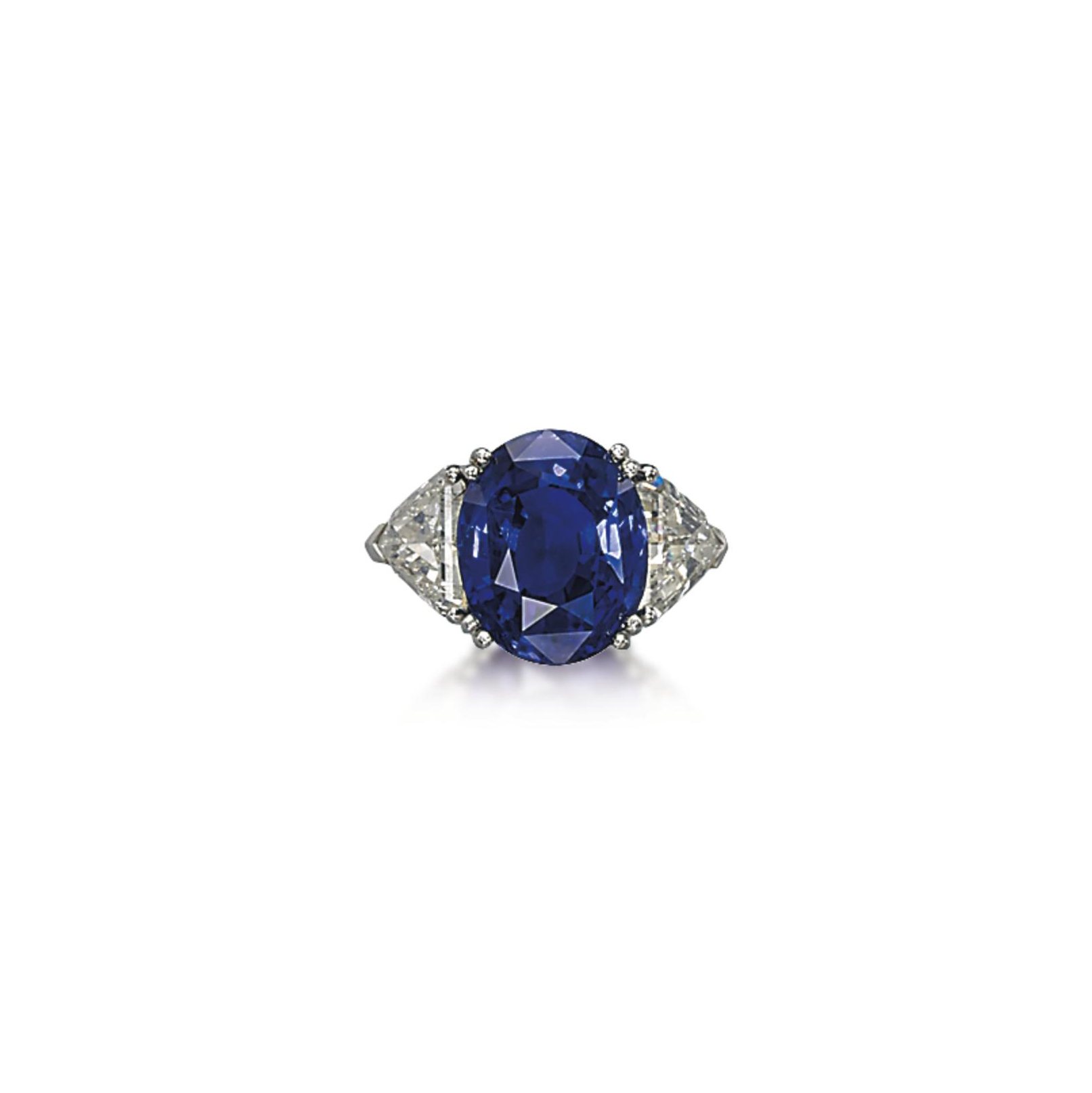 A SAPPHIRE AND DIAMOND RING, BY FASANO