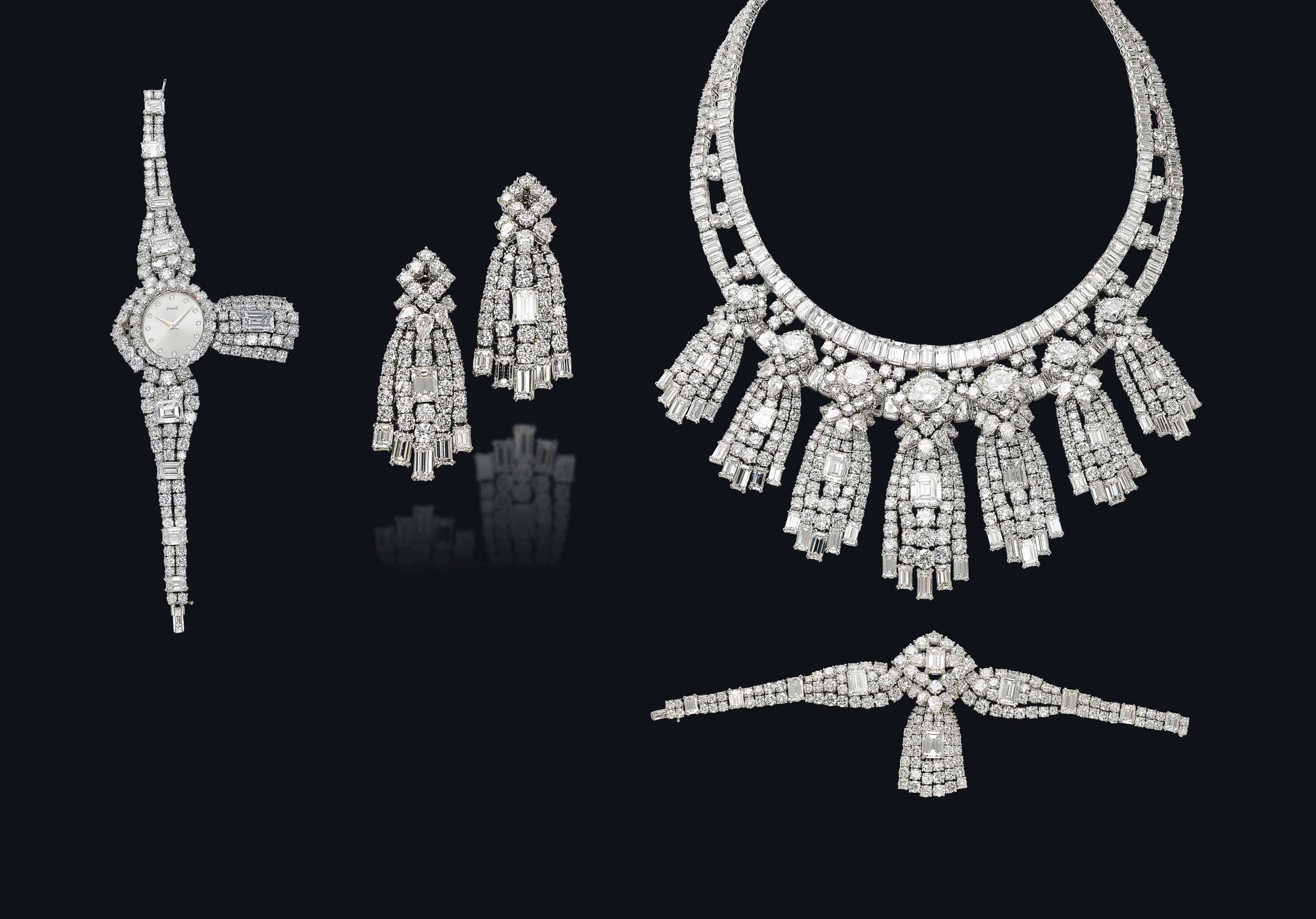 A SUITE OF DIAMOND JEWELLERY, BY MOUAWAD