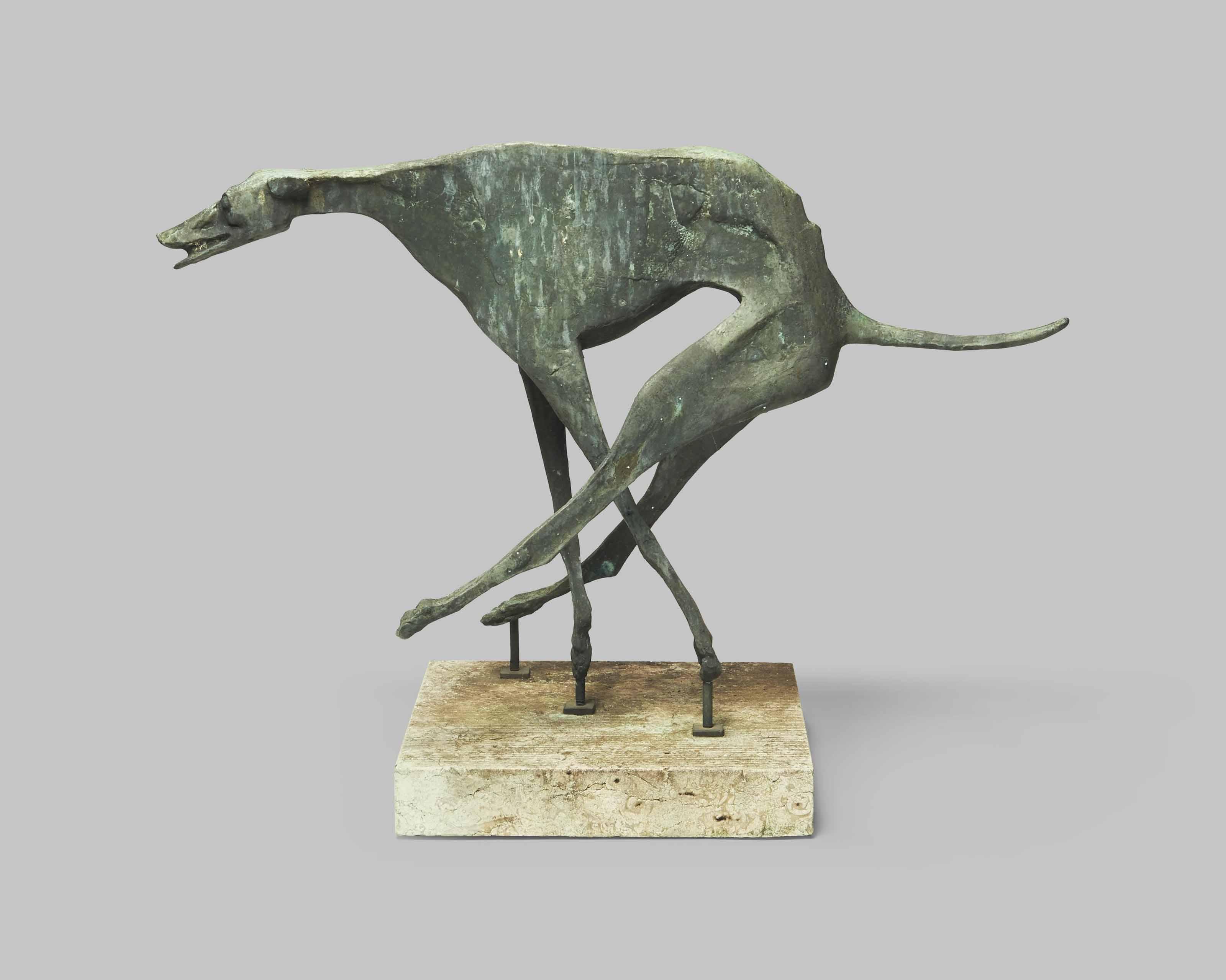 Windhund (rennend)