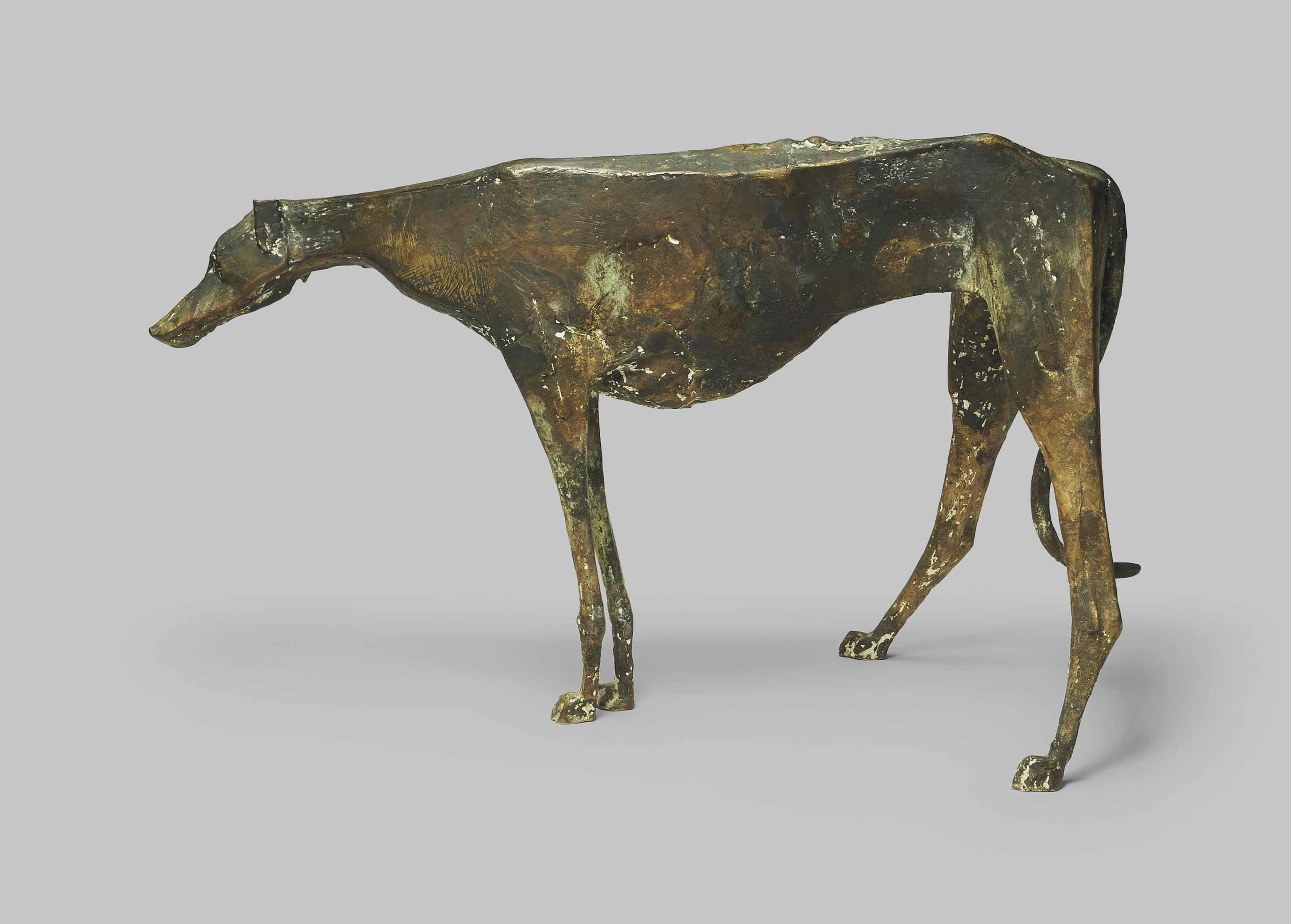 Windhund (stehend)