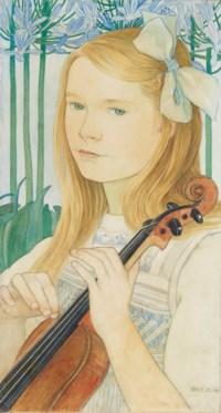 Bildnis Martha Streiff, 1909
