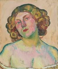 Bildnis Régina Morgeron, um 1911