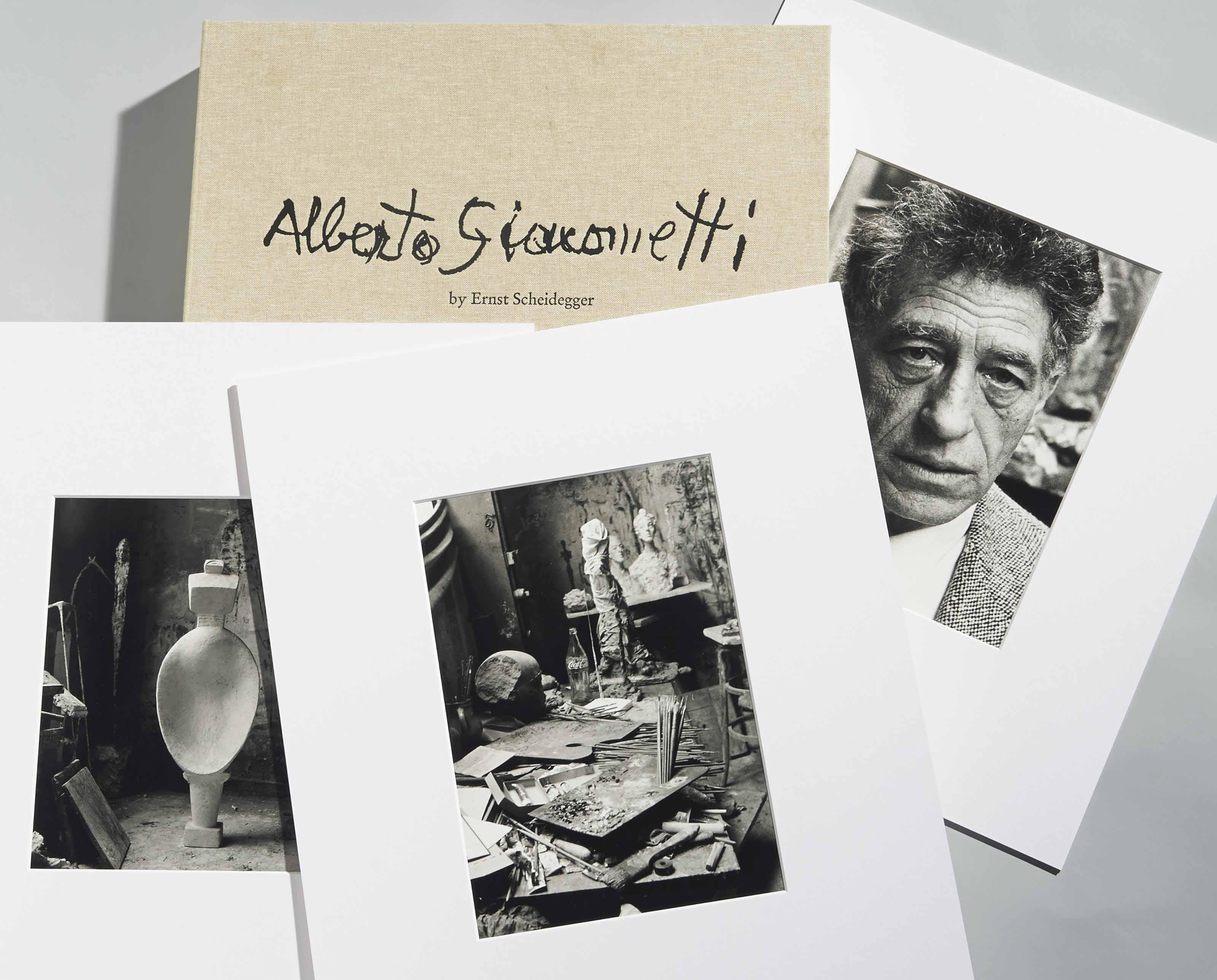 Portfolio Alberto Giacometti, zum 100. Geburtstag des Künstlers, 2001