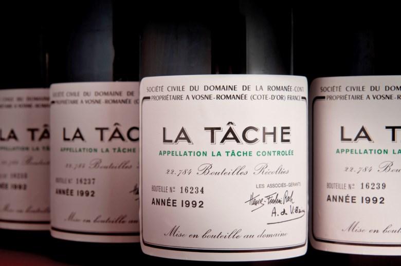 Domaine de la Romanée-Conti La Tâche 1992, 12 bottles per lot. Sold for HK$318,500 on 24 May 2014 at Christie's in Hong Kong, HKCEC Grand Hall