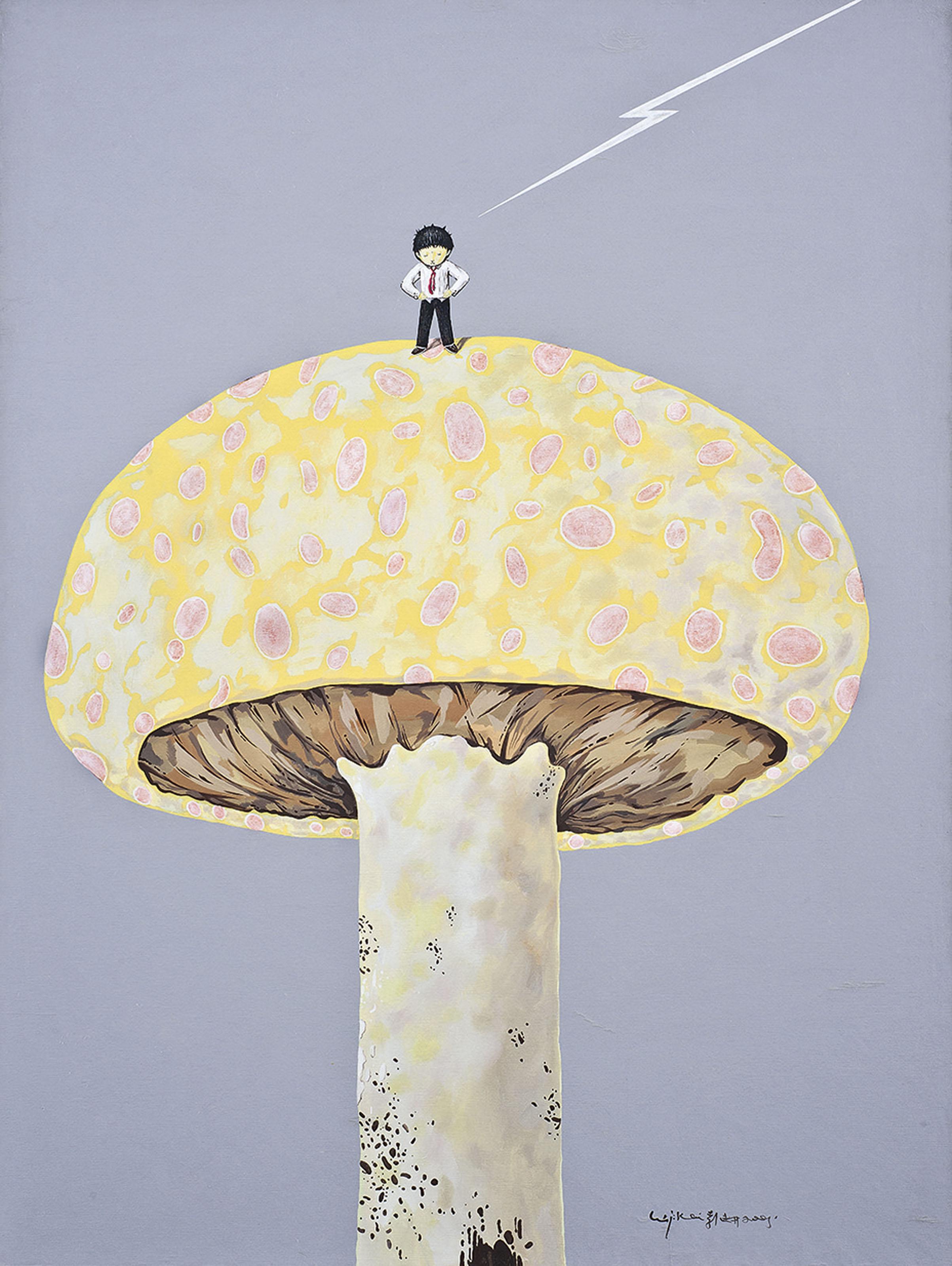 Boy and Mushroom