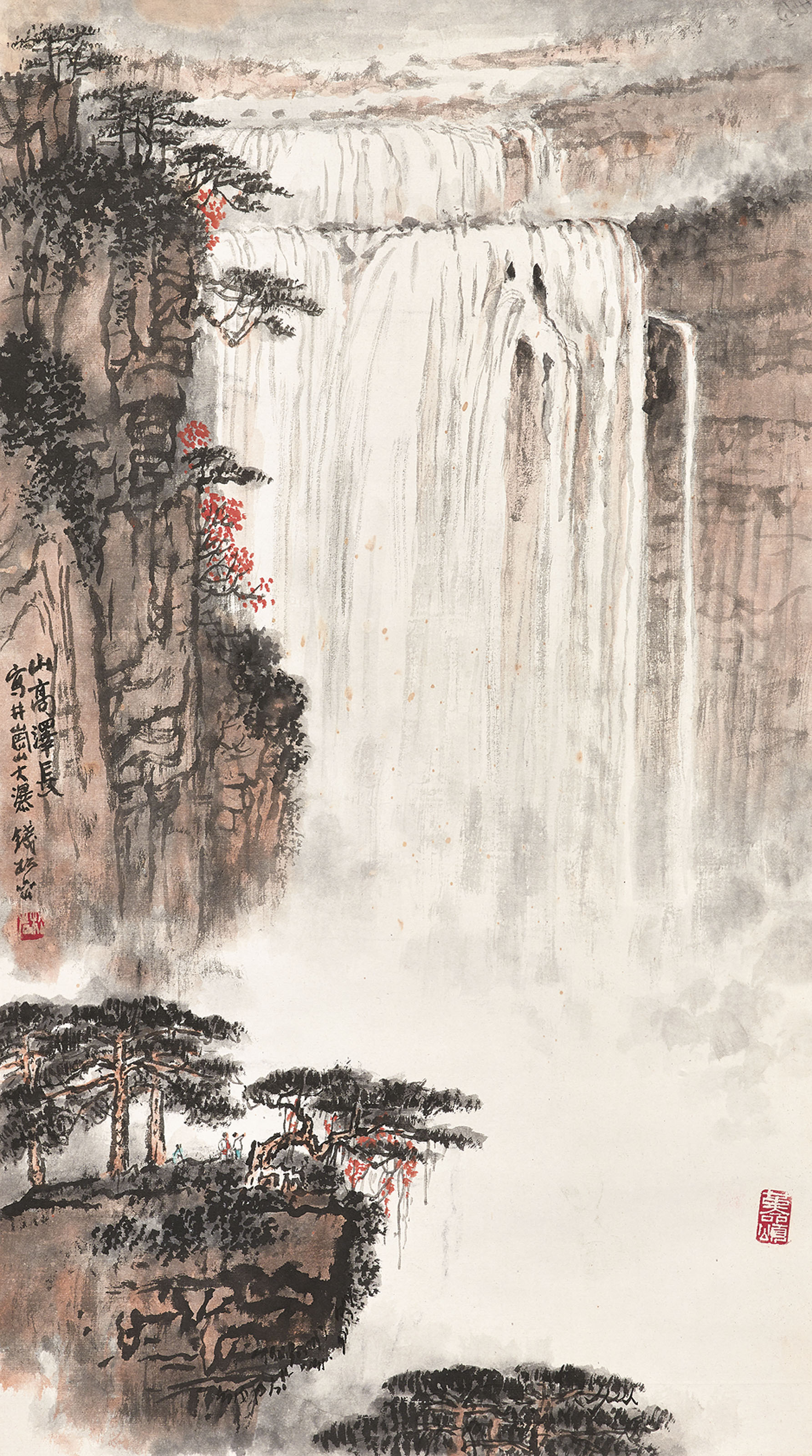 Waterfalls of Jinggang Mountain