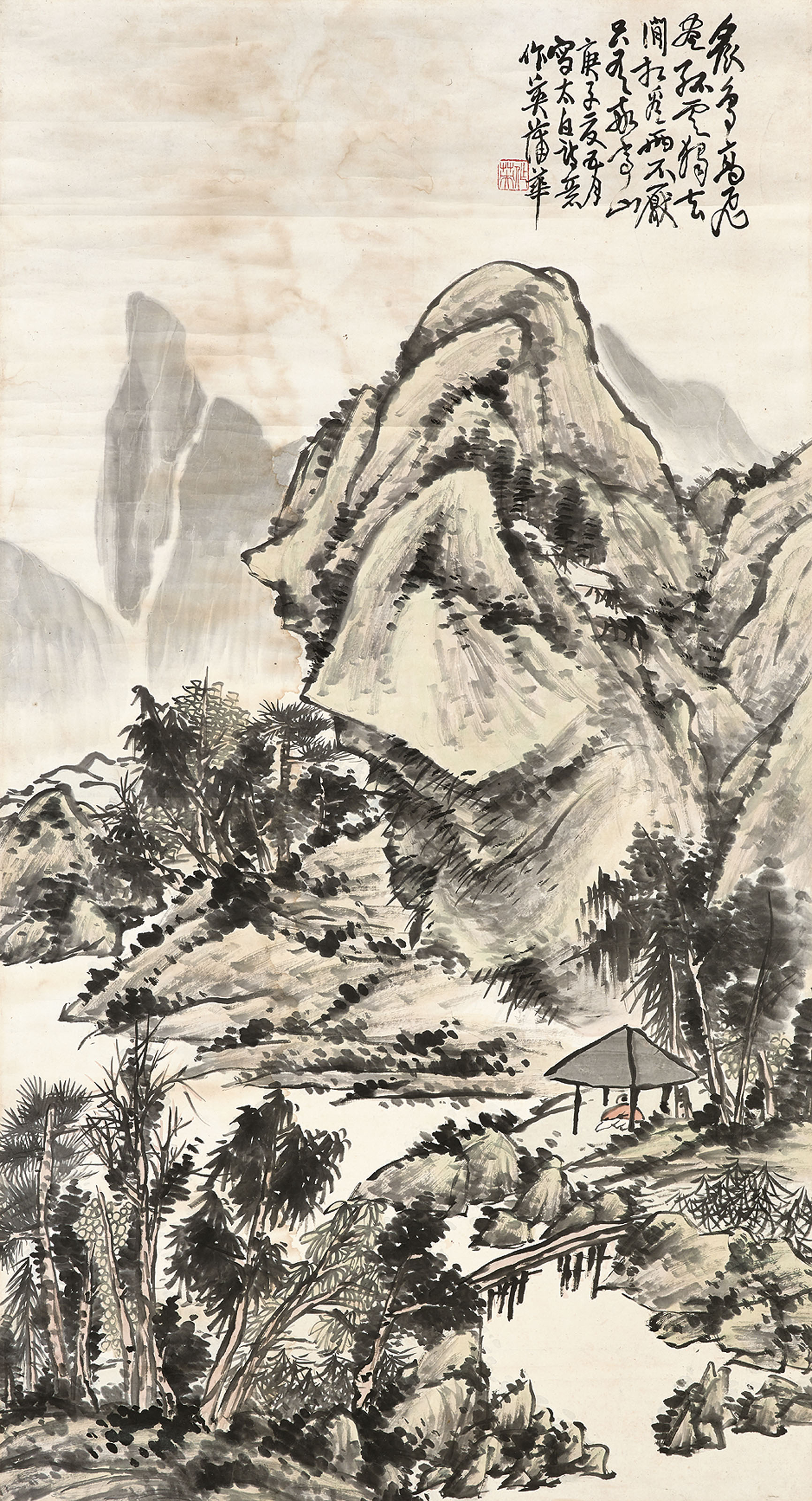 Landscape in the Sentiments of Li Bai