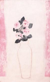 Roses in a White Vase (Bouquet de roses dans un vase blanc)