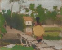 LA TRAVERSàEE DU PONT (CROSSING THE BRIDGE)