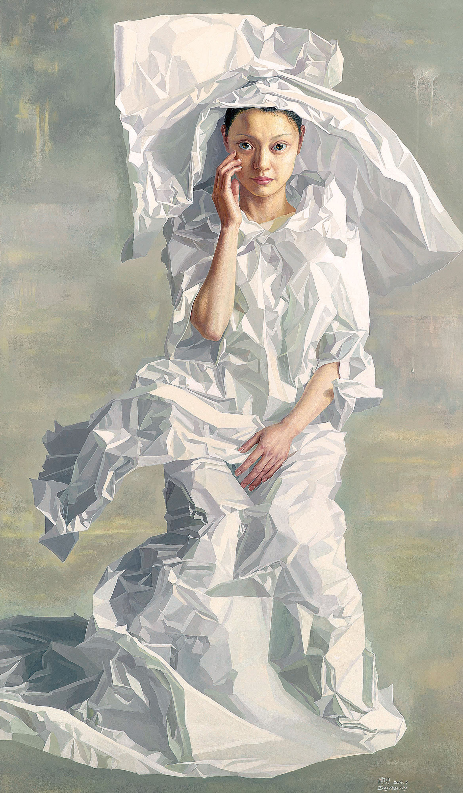 Paper Lady (from the Paper Bride series)
