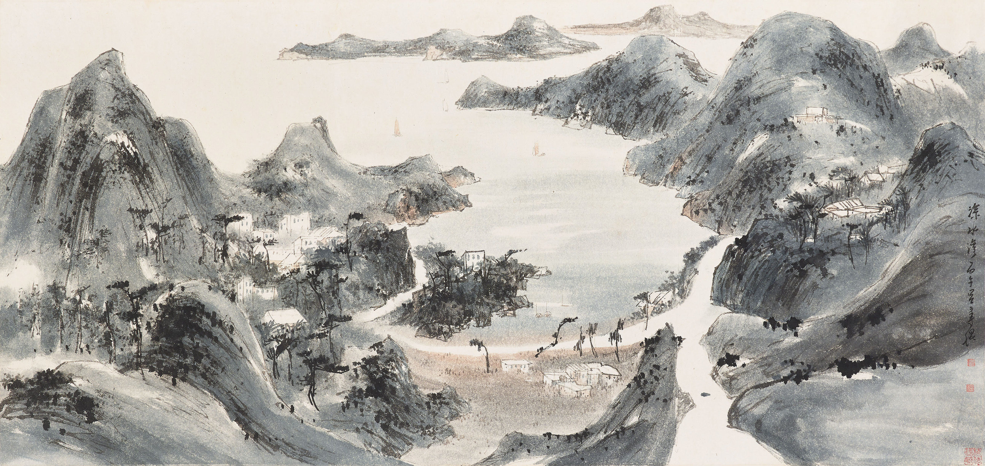 Sketch of Hong Kong - Deep Water Bay