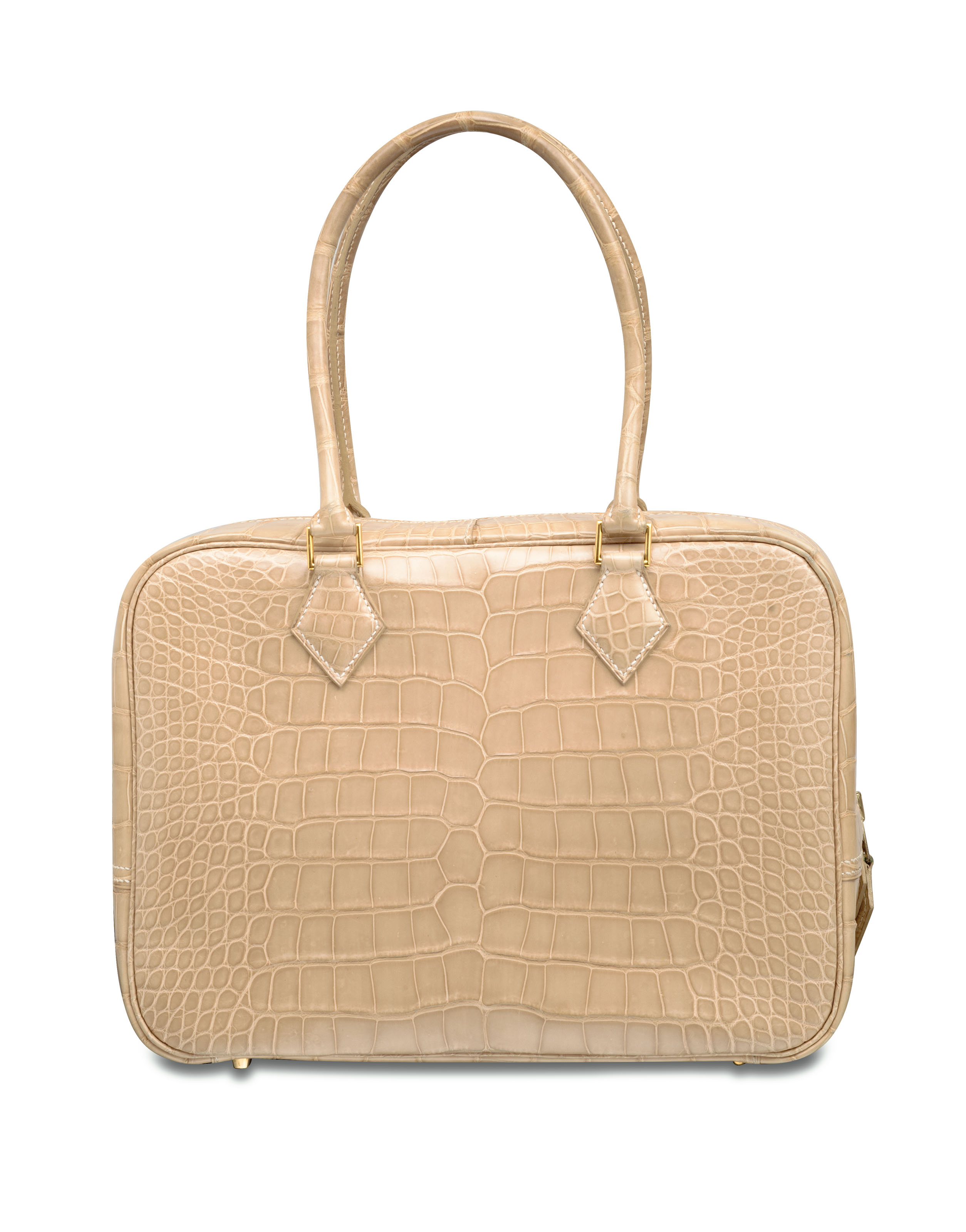 00f64de1dd ... low price a shiny poudre alligator plume 28 bag with gold hardware  hermÈs ef378 b1f50 ...