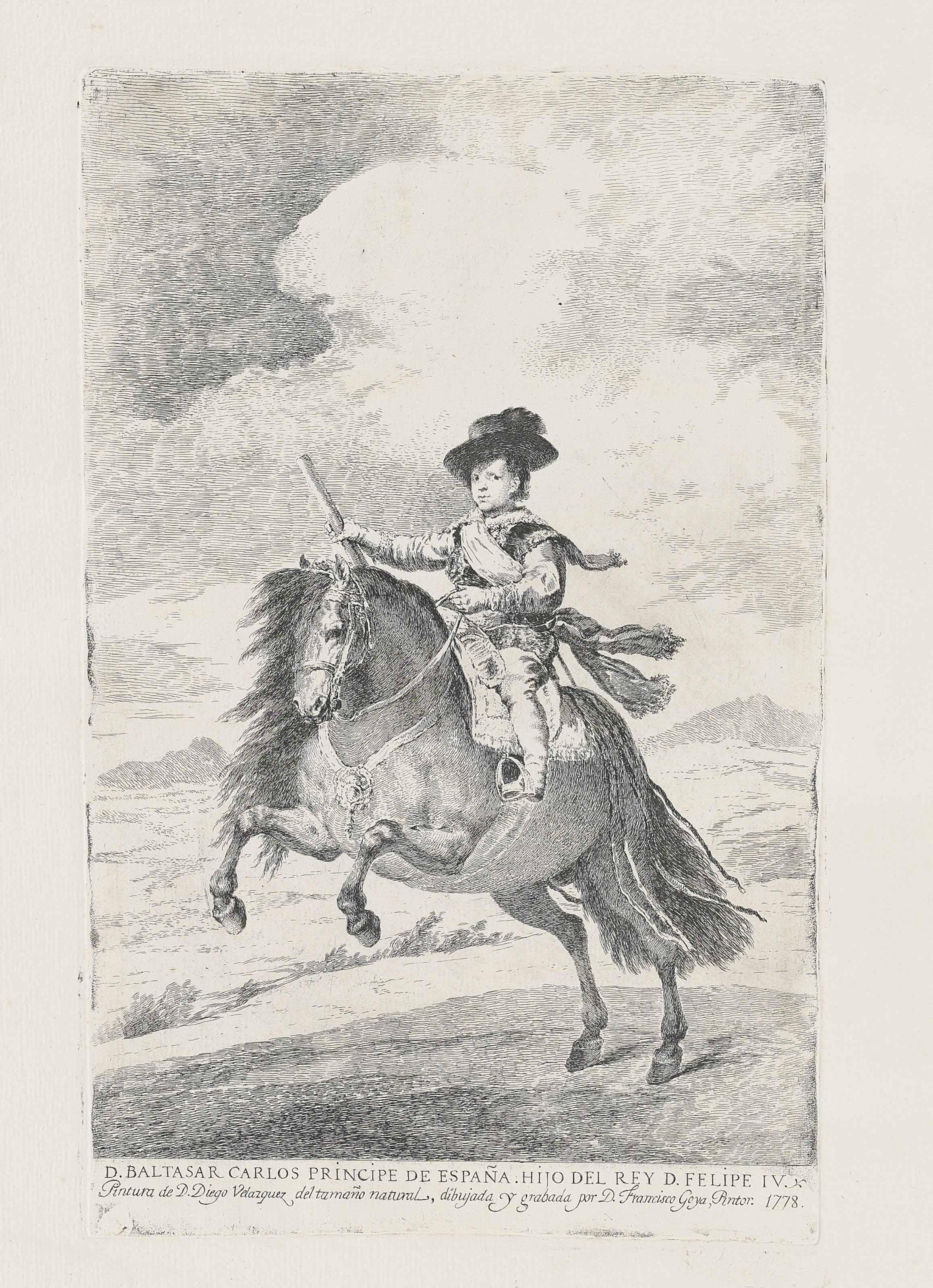 Francisco de Goya y Lucientes (1746-1828), after Diego Velázquez (1599-1660)