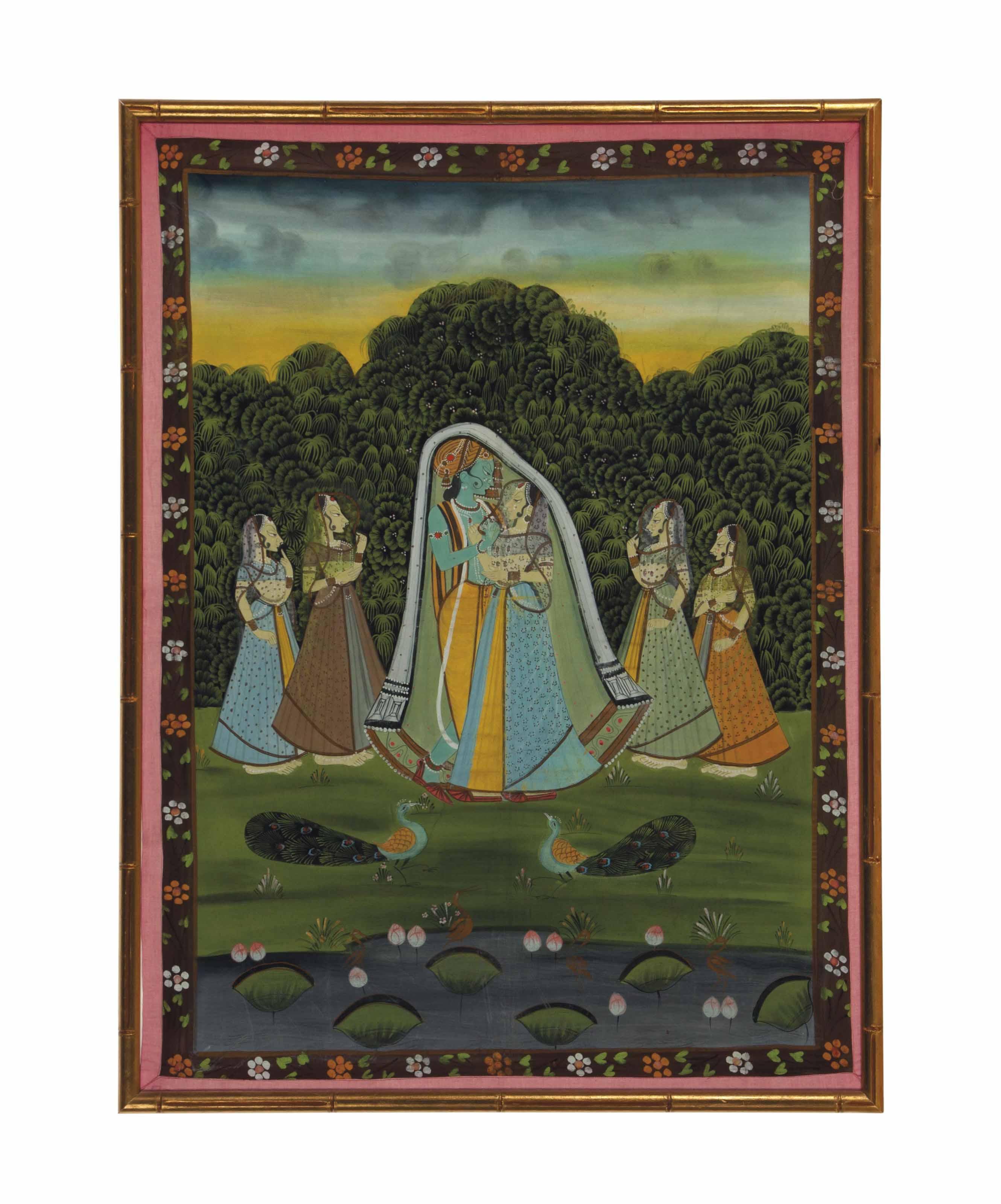AN INDIAN KISHANGARH-STYLE PAI