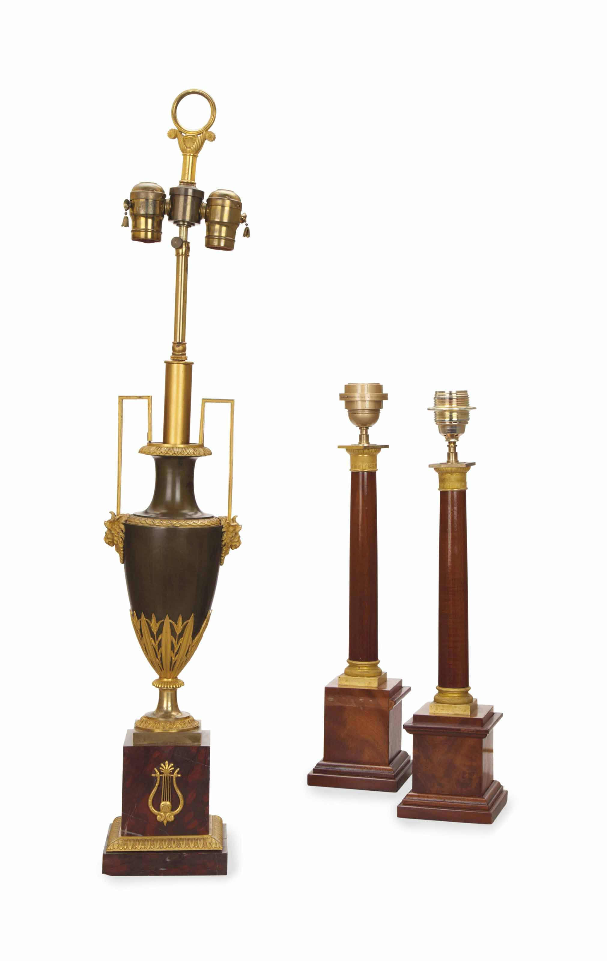 A DIRECTOIRE ORMOLU AND ROUGE