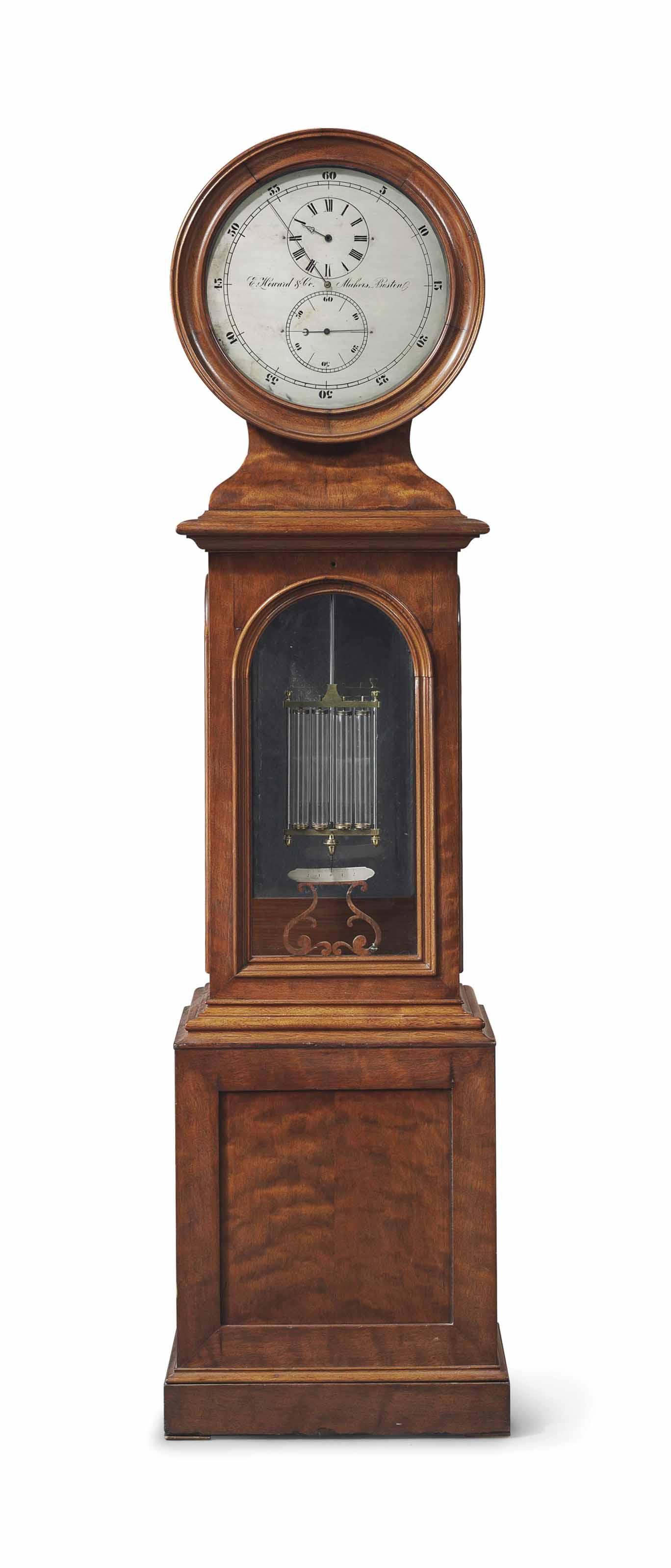 A WALNUT NO. 23 ASTRONOMICAL REGULATOR