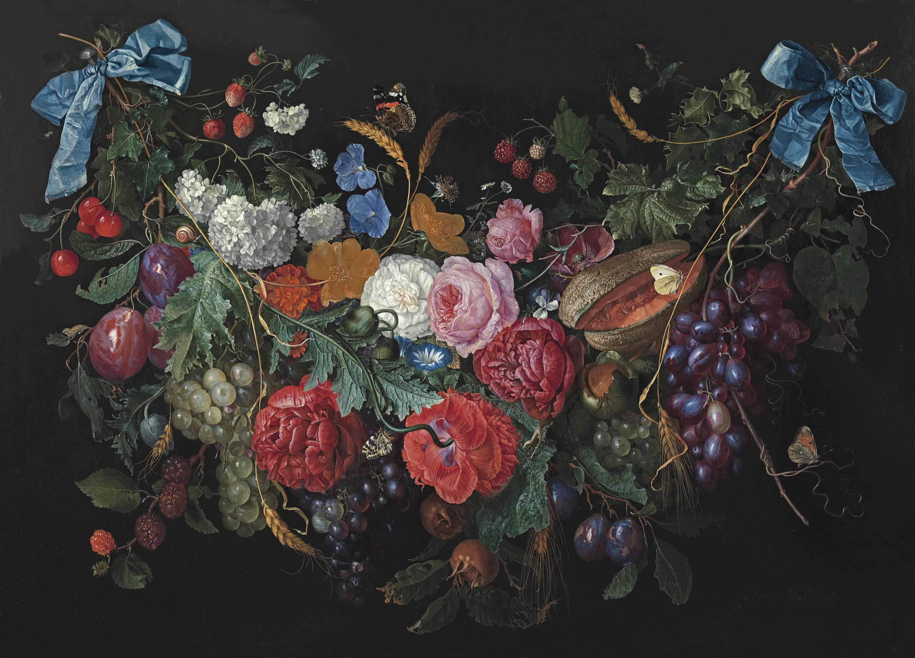 Jacob van Walscapelle (Dordrecht 1644-1727 Amsterdam)