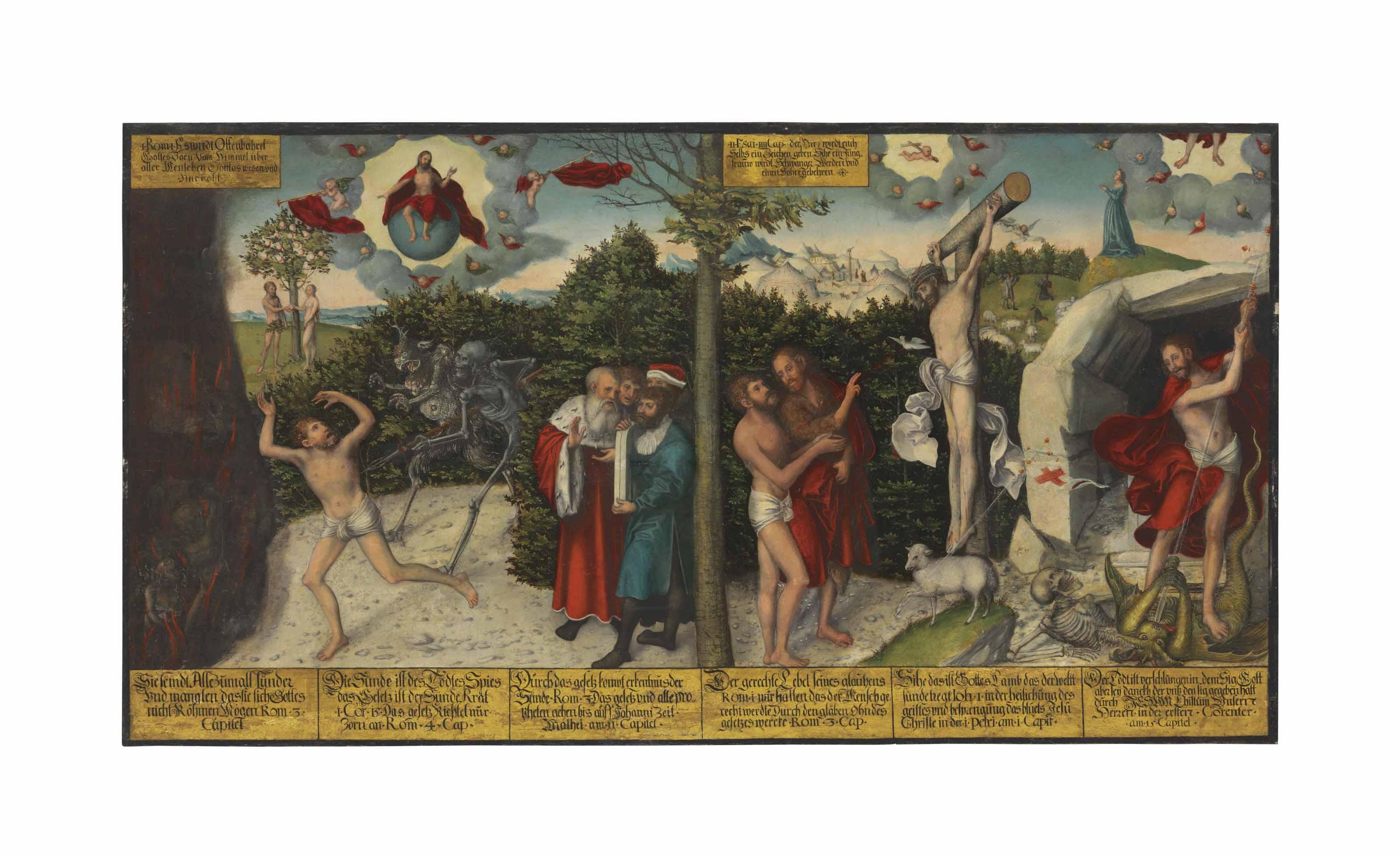 Audio: Lucas Cranach I, Law and Grace