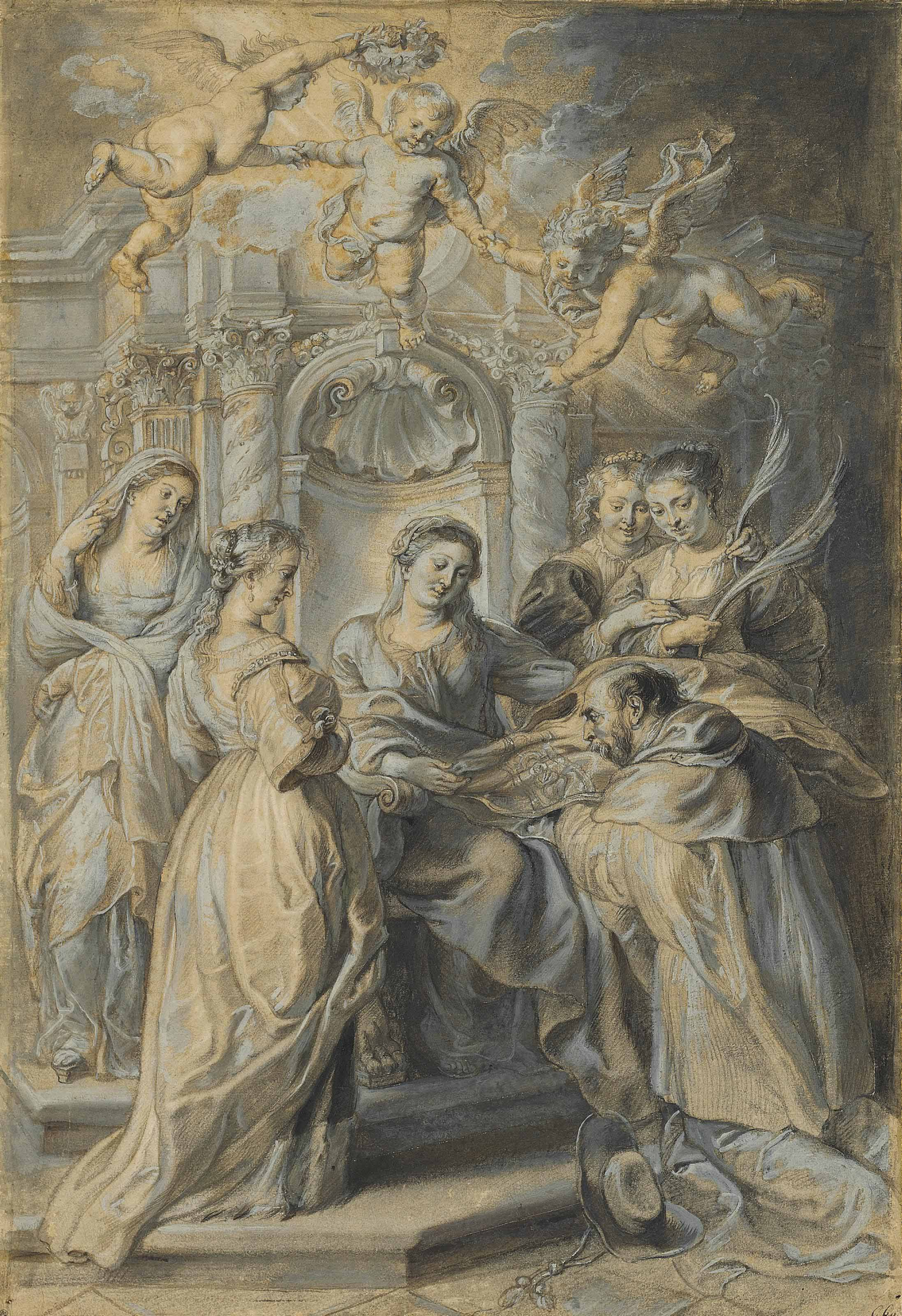 sir peter paul rubens siegen 1577 1640 antwerp extensively reworking a drawing attributed to. Black Bedroom Furniture Sets. Home Design Ideas