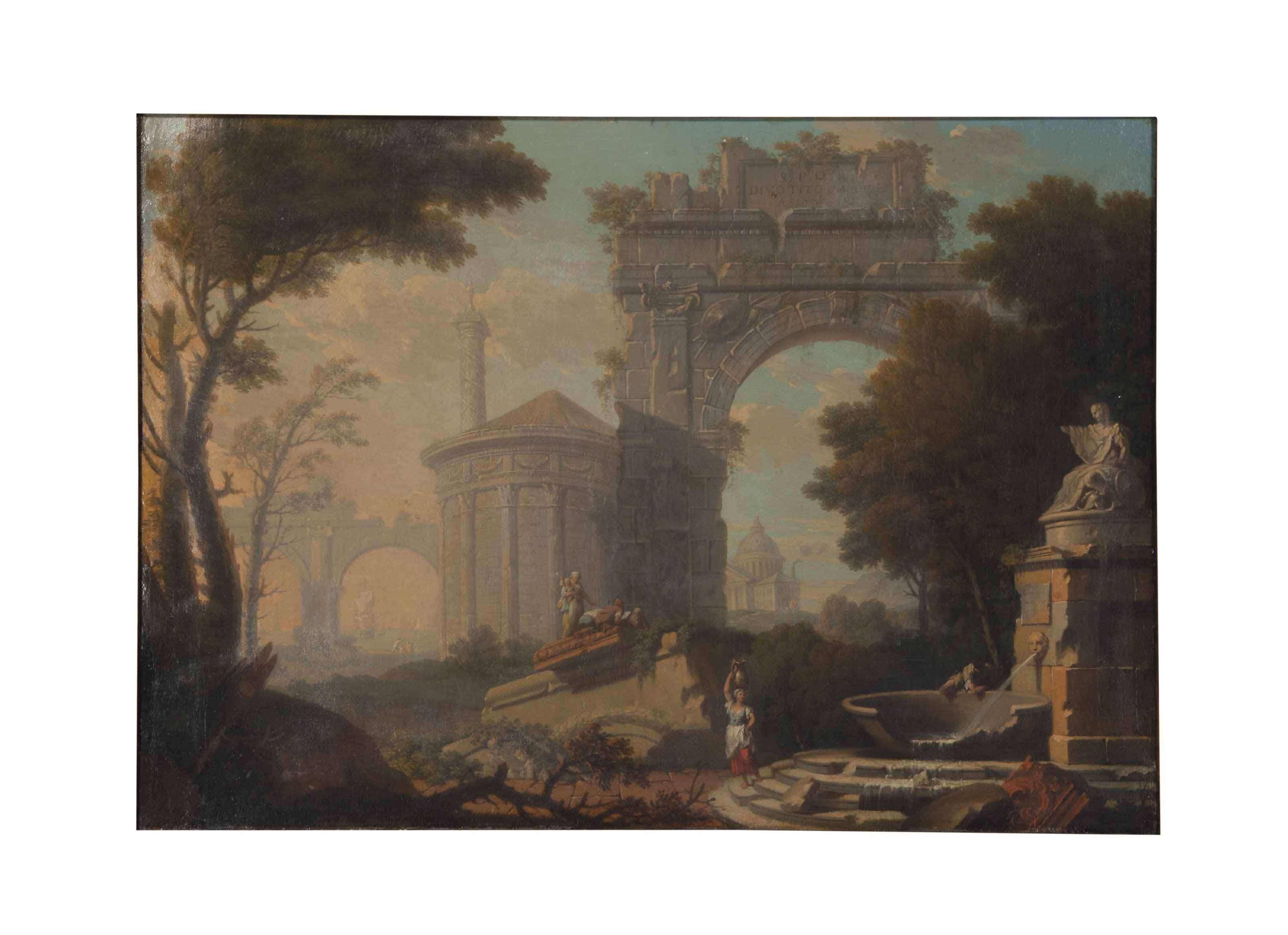 Cicle of Leonardo Coccorante (Italian, 1680-1750)