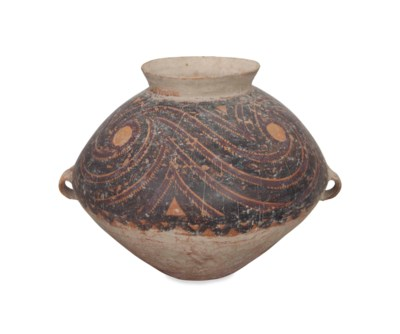 A CHINESE NEOLITHIC PAINTED PO