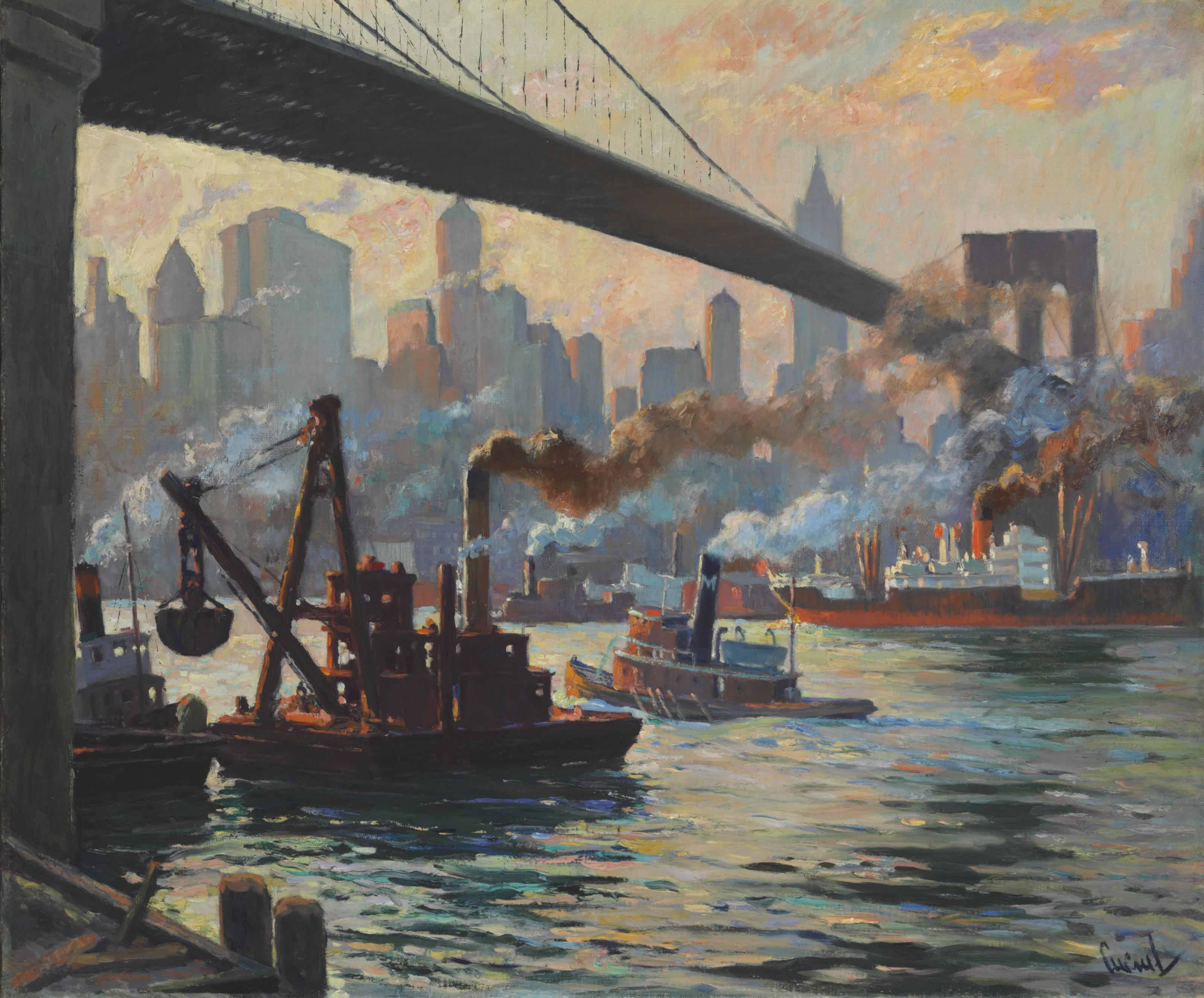 The Day's Work, East River, New York
