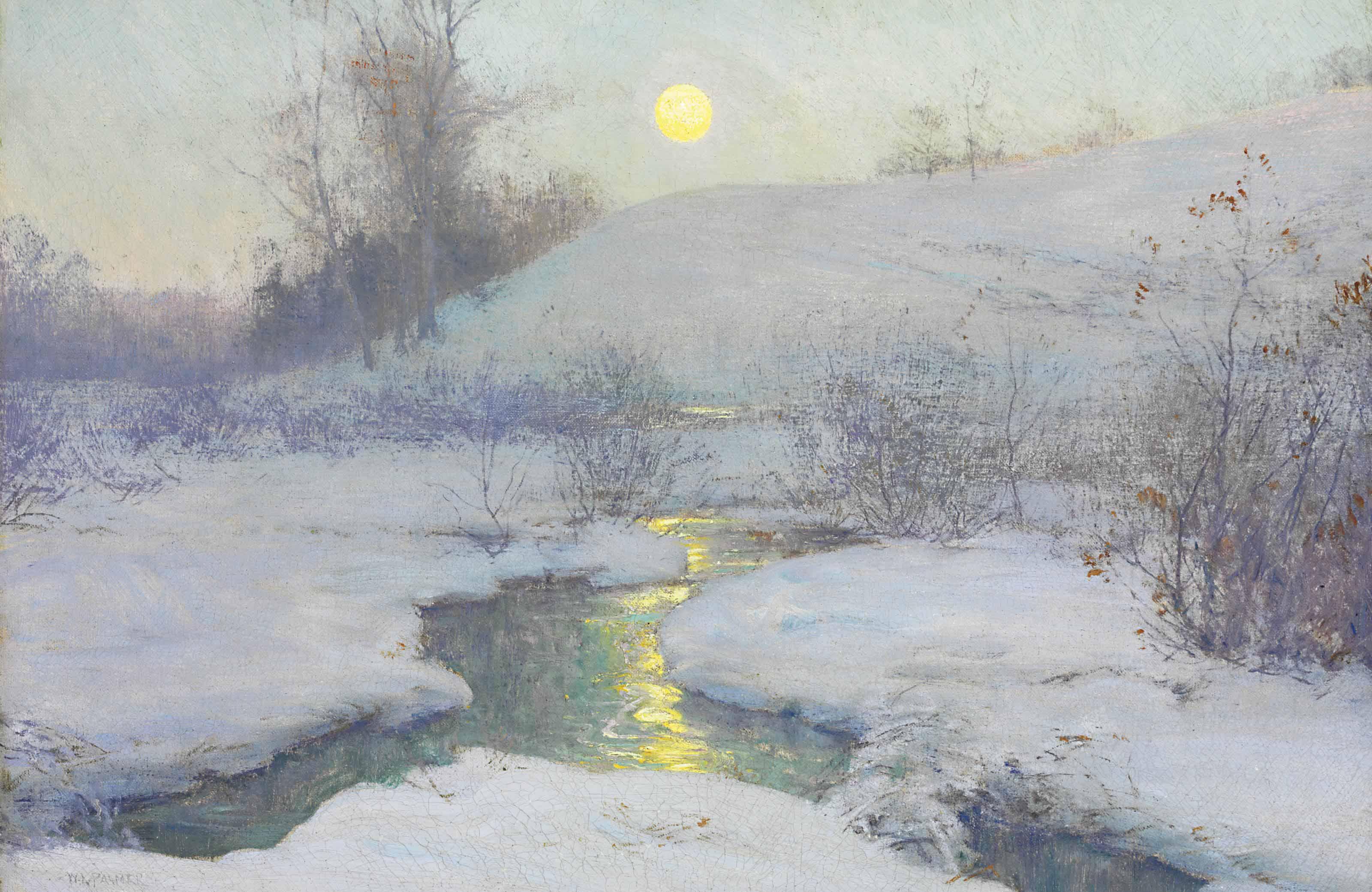 Moonrise at Dusk