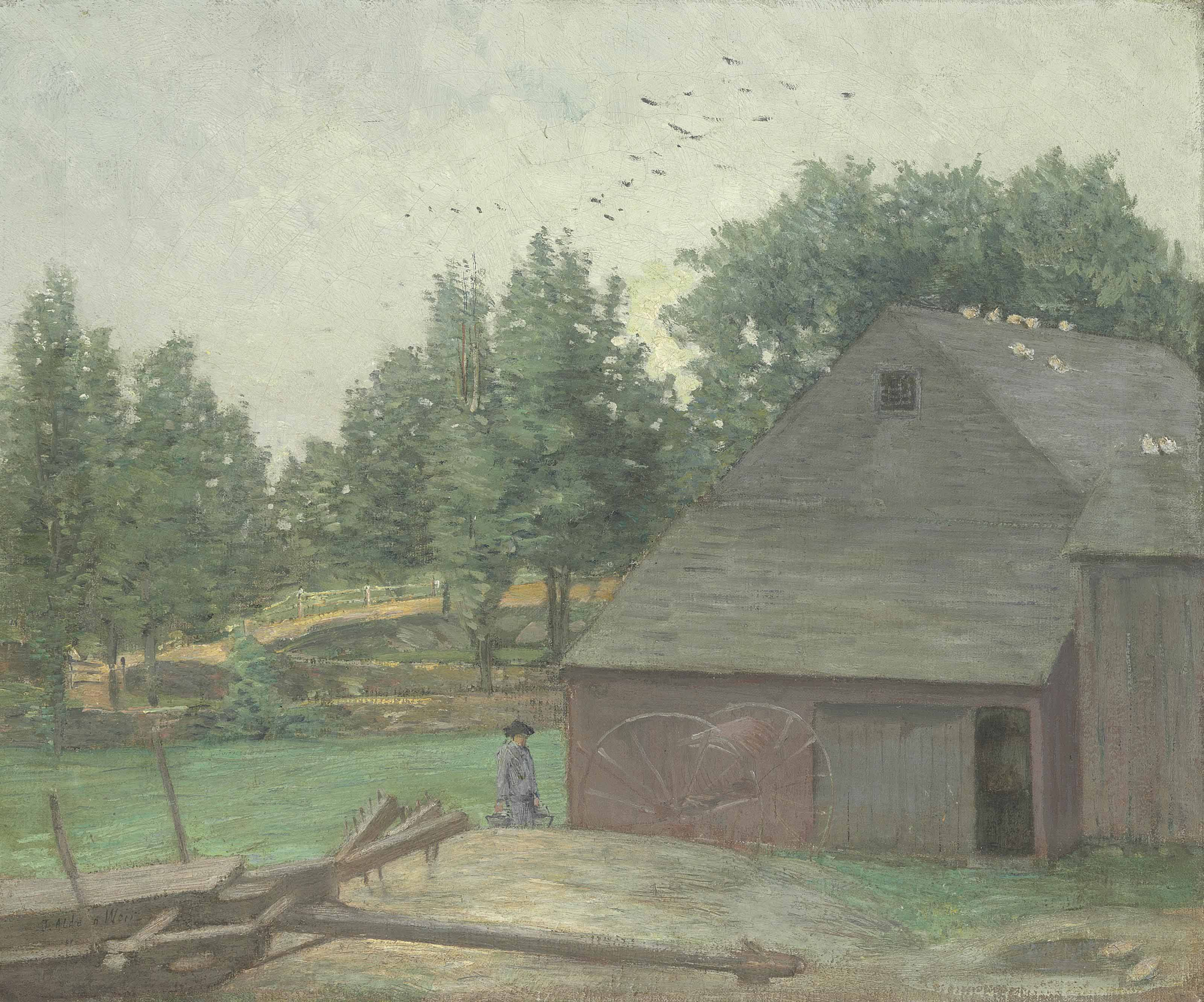 Summer in Connecticut--The Old Barn at Branchville