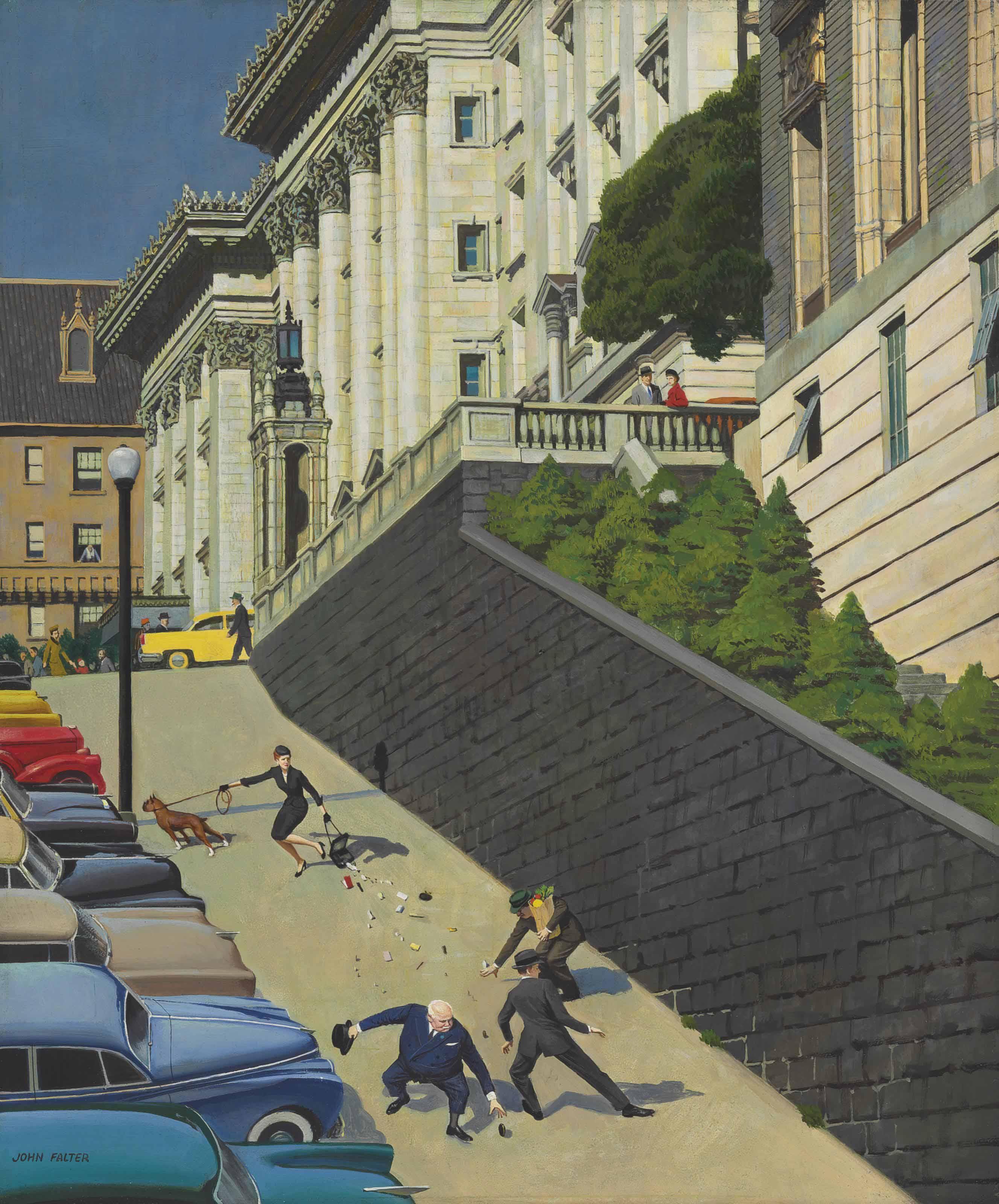John Philip Falter Paintings For Sale