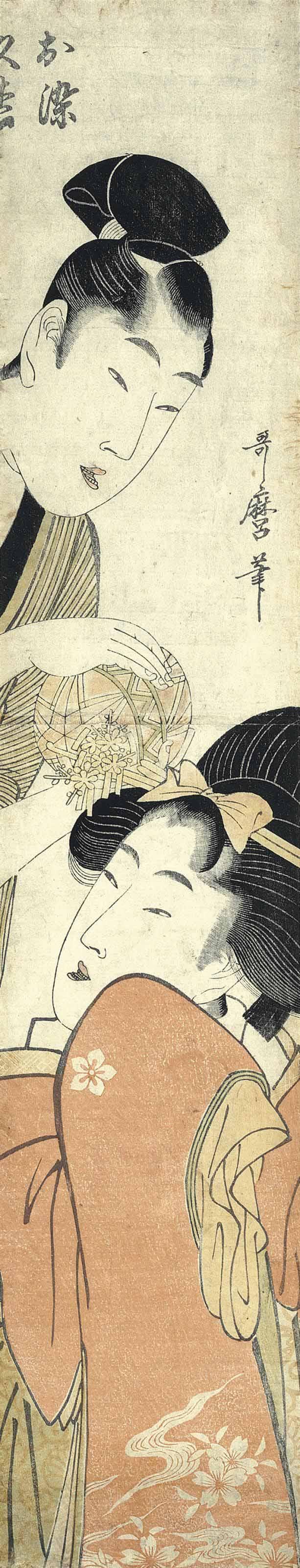Kitagawa Utamaro (1753?-1806) After Torii Kiyonaga (19th century)