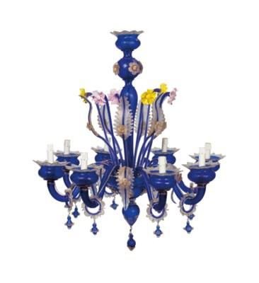 A VENETIAN COBALT BLUE AND POL