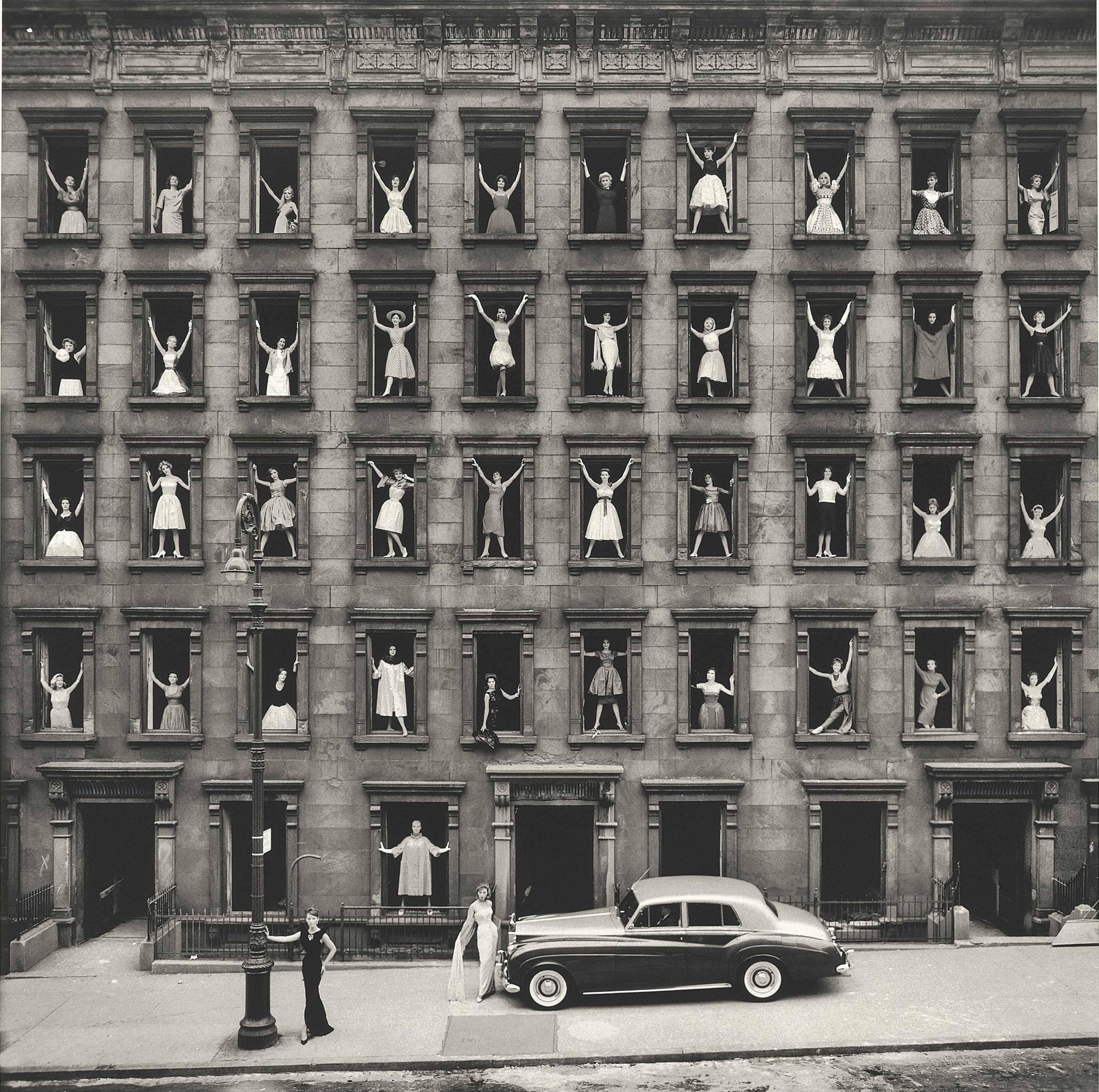 New York City (Girls in Windows), 1961
