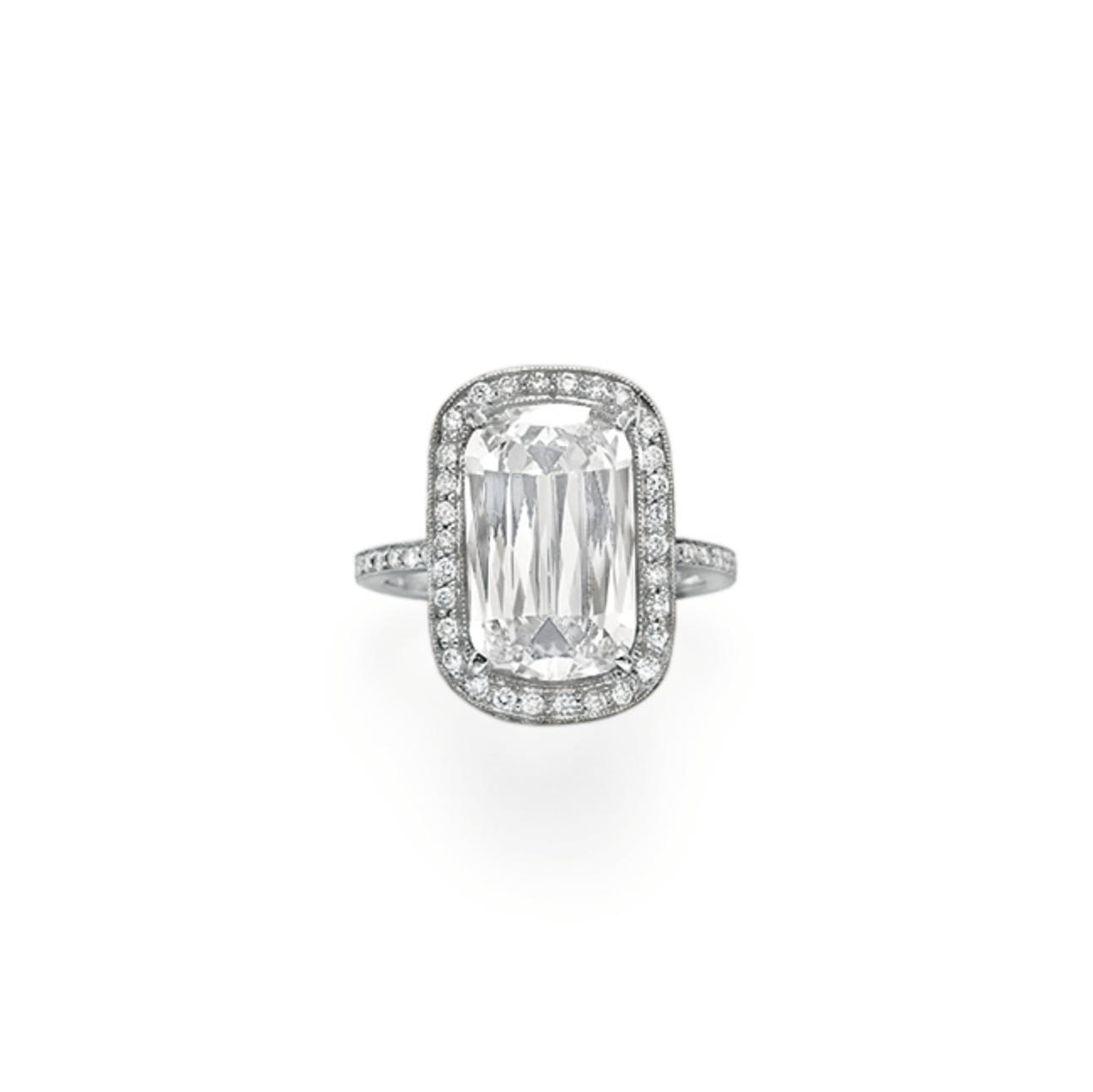 A DIAMOND RING, BY WILLIAM GOLDBERG