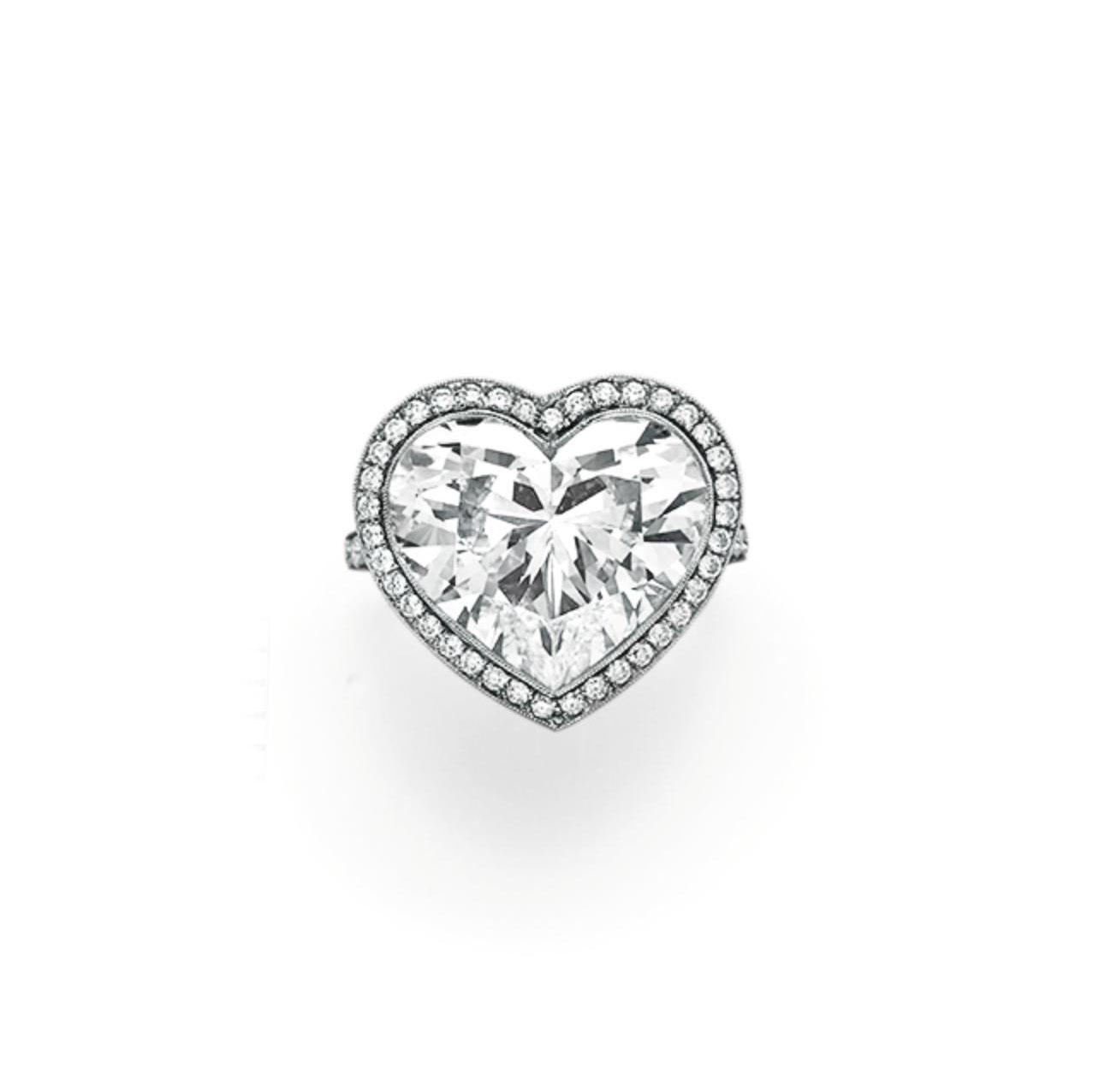 A DIAMOND RING, BY TIFFANY & CO.